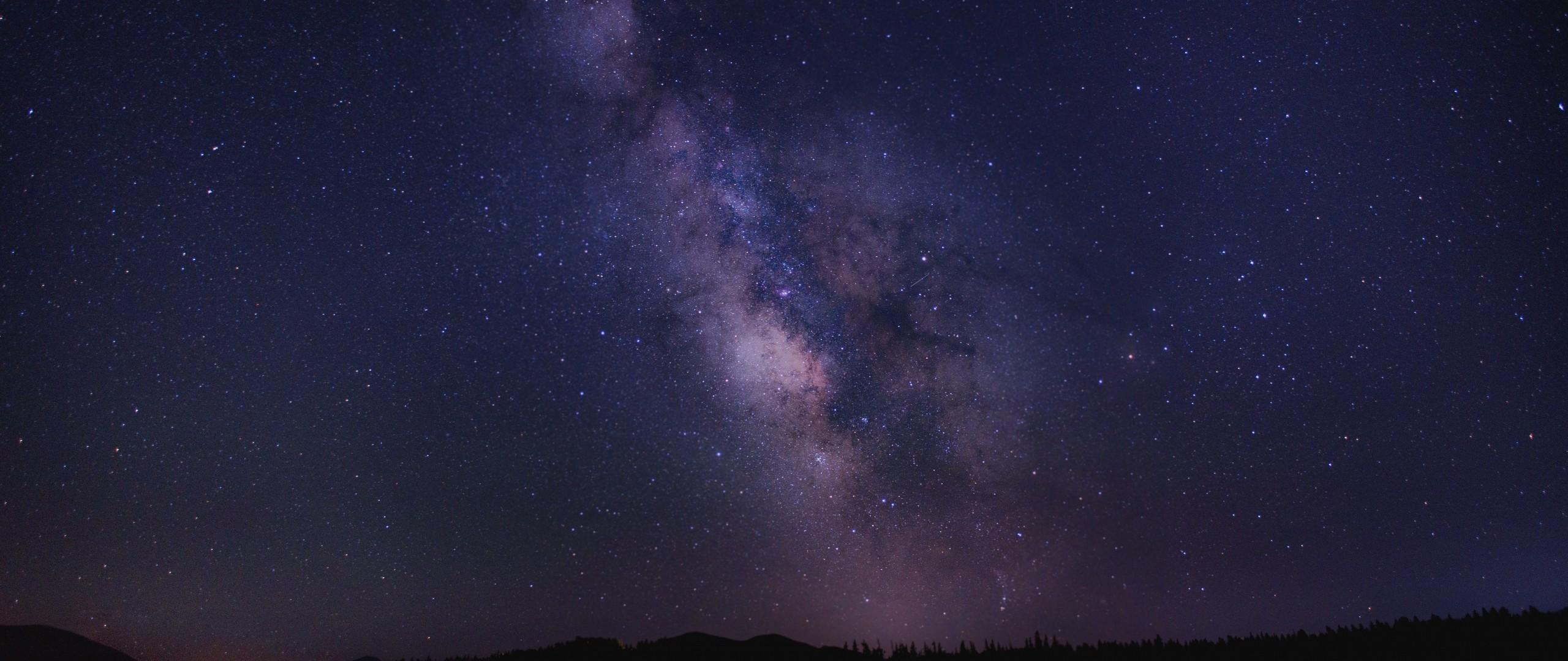 Wallpaper starry sky, night, stars, sky