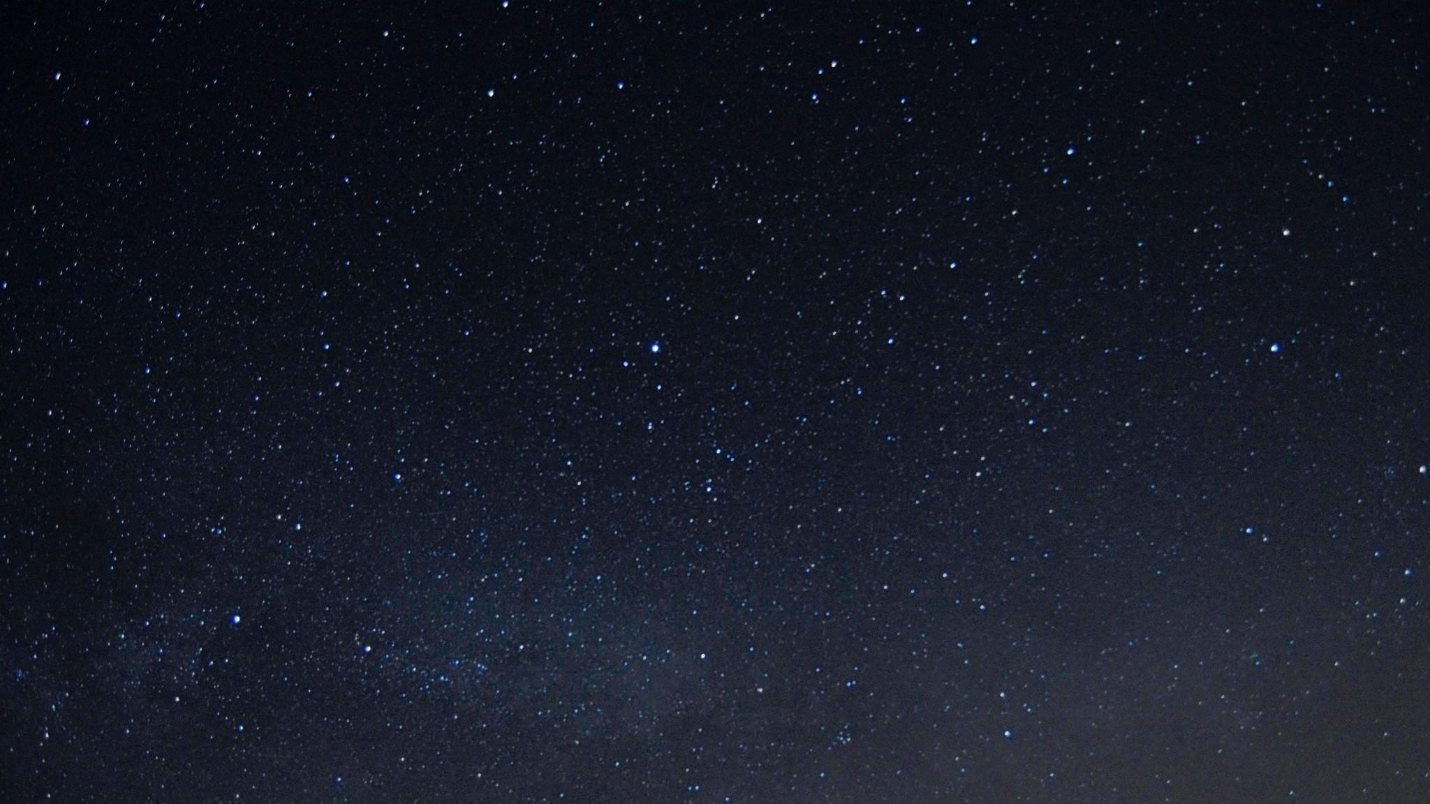 Wallpaper starry sky, night, stars