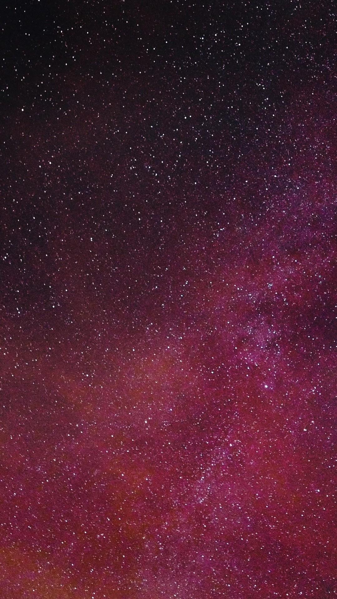 Wallpaper starry sky, burgundy, stars