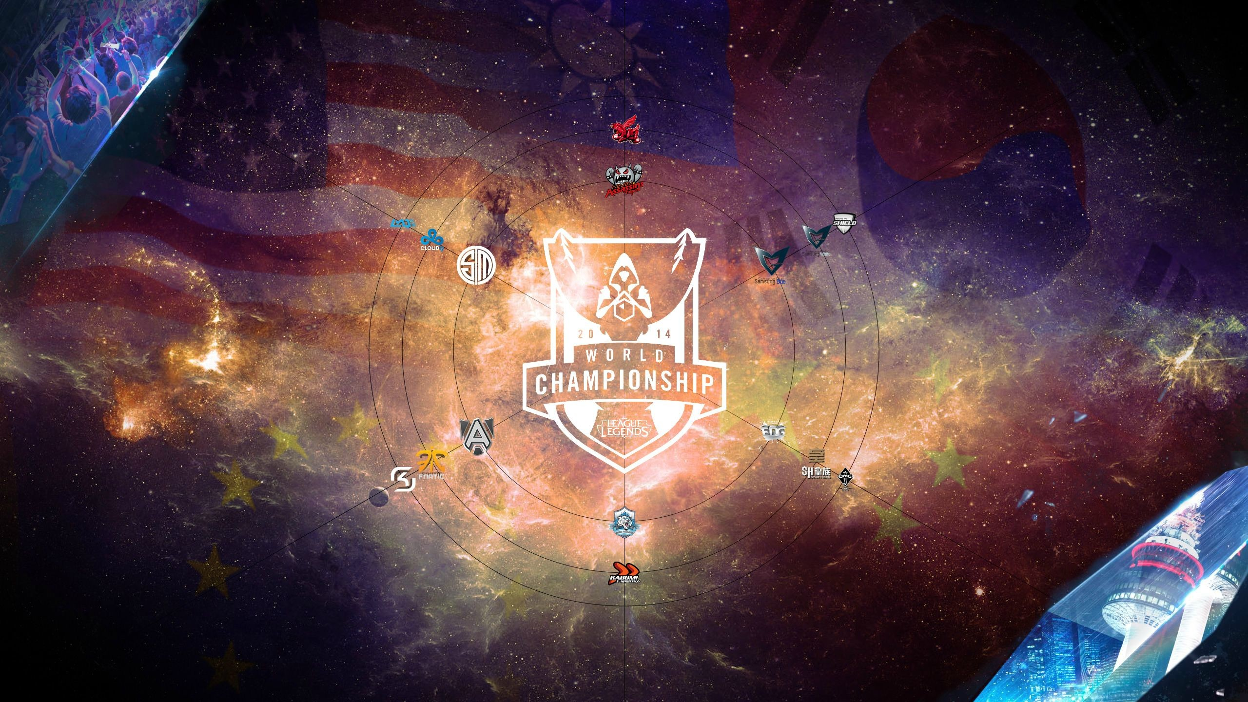 Let the S4 Championship hype begin [Wallpaper] : leagueoflegends