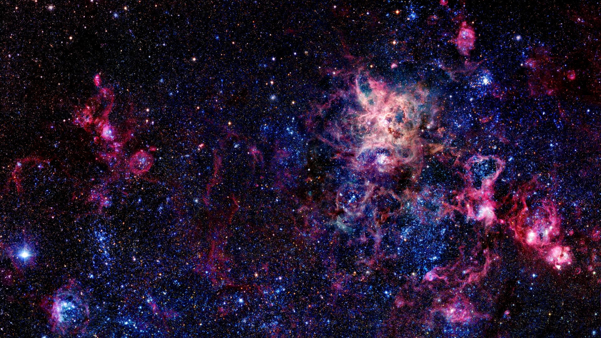 DesktopPeople say space is empty, I don't [1920×1080] …