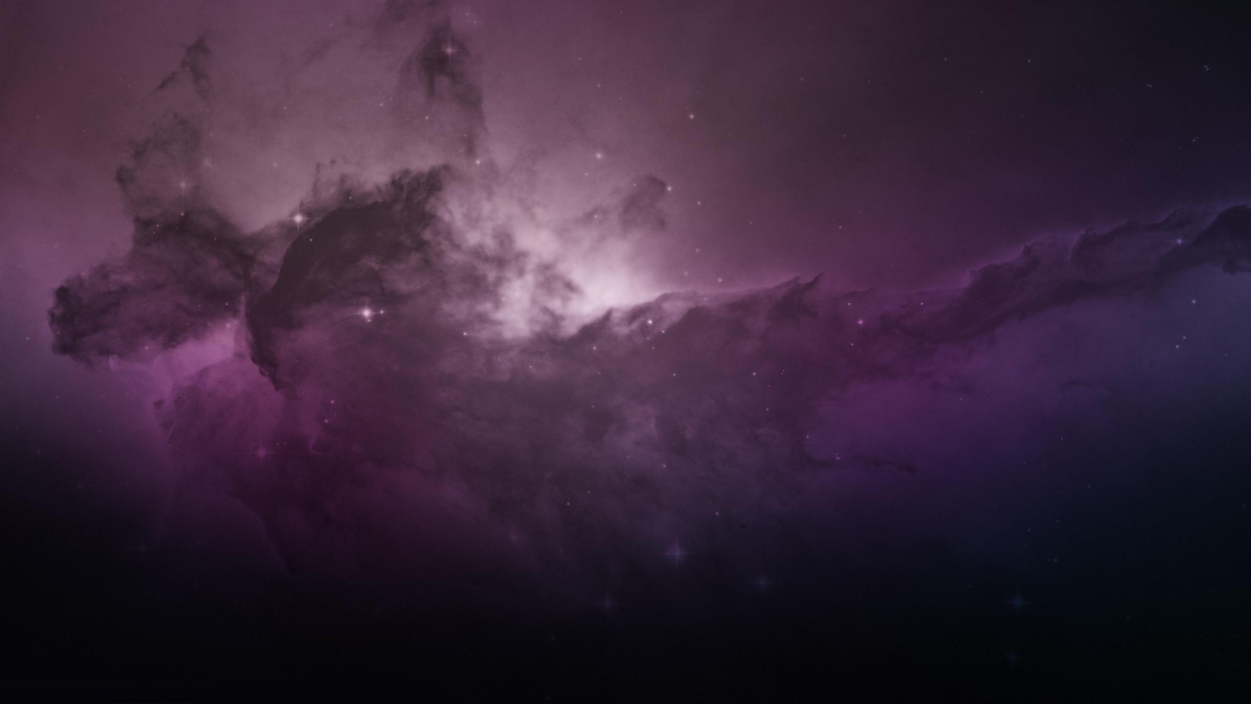 wallpaper nebula eagle computer space media 2560×1440