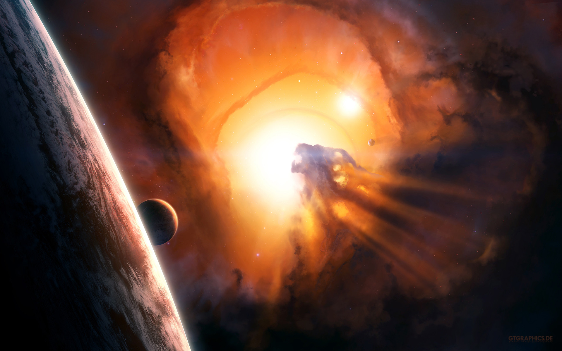 Space Black Hole