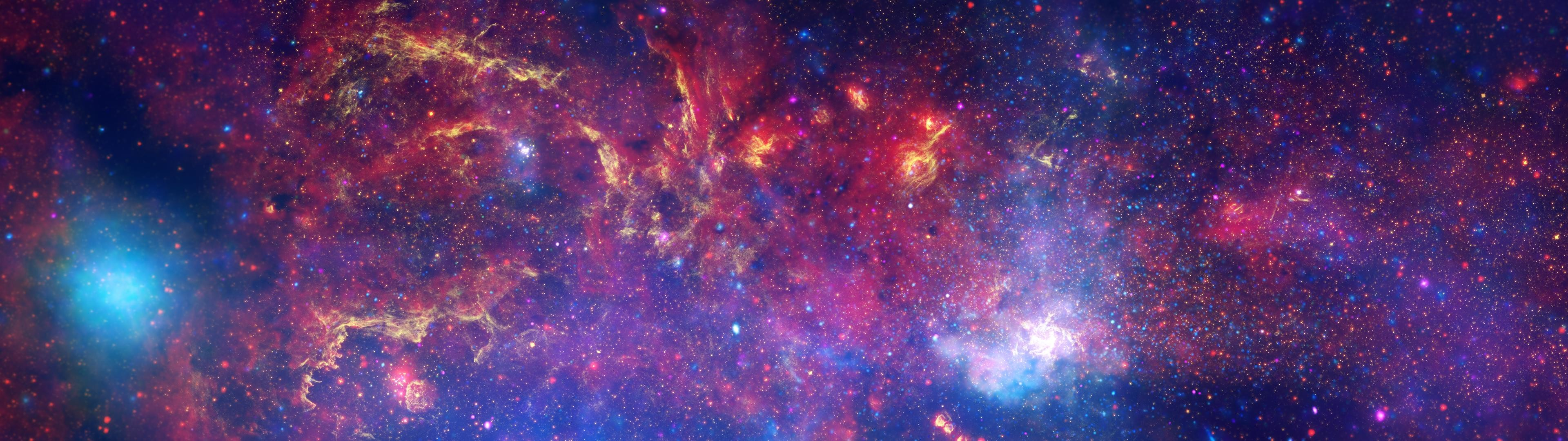 Space Telescope Mix Dual Wallpapers