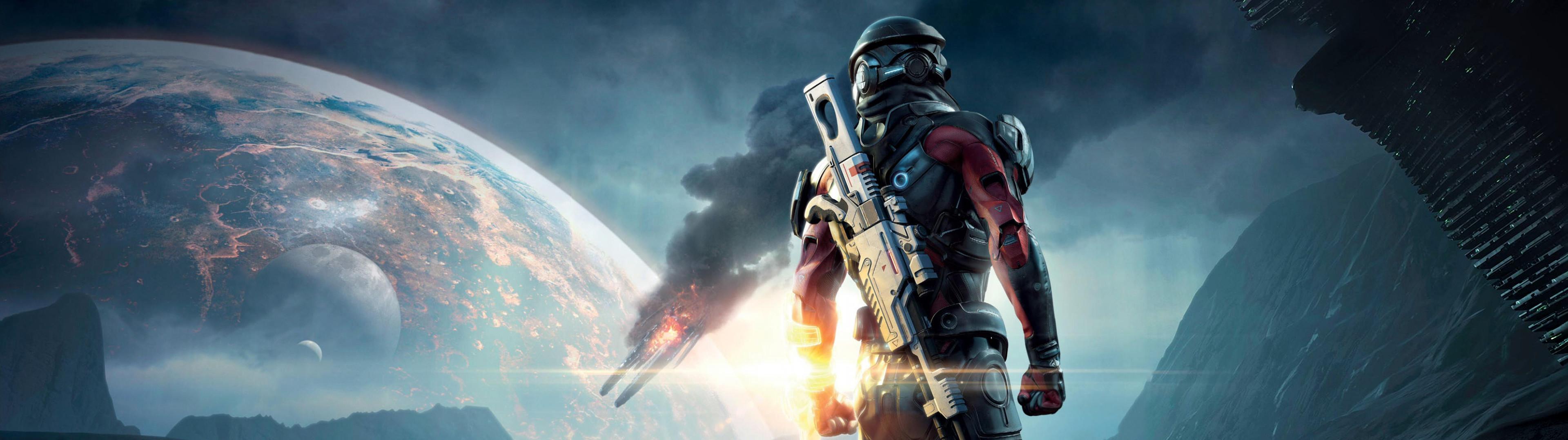 [3840×1080] Mass Effect AndromedaDual …