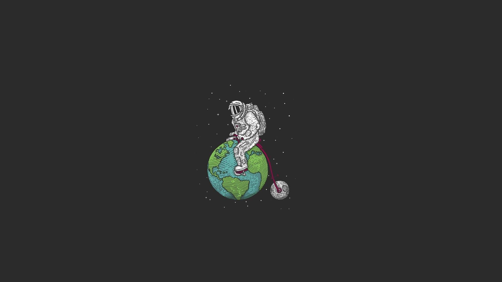 wallpaper.wiki-Free-Download-Astronaut-Image-PIC-WPD0013903