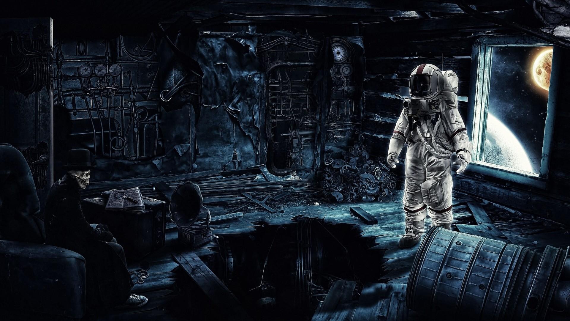 astronaut wallpapers (1920×1080)