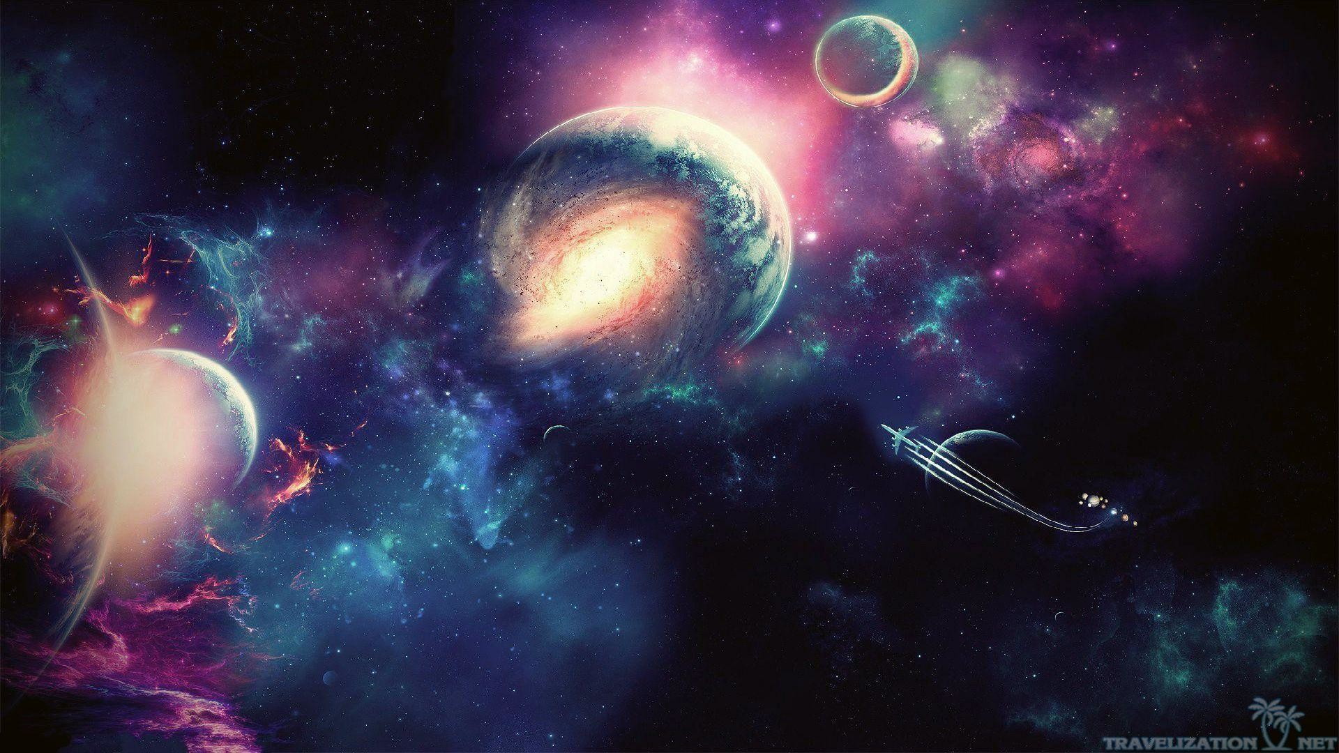 Wallpapers For > Awesome Space Wallpapers Hd