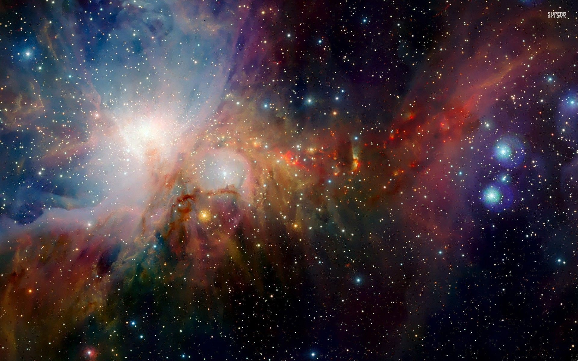 Colorful Space Wallpapers Widescreen As Wallpaper HD