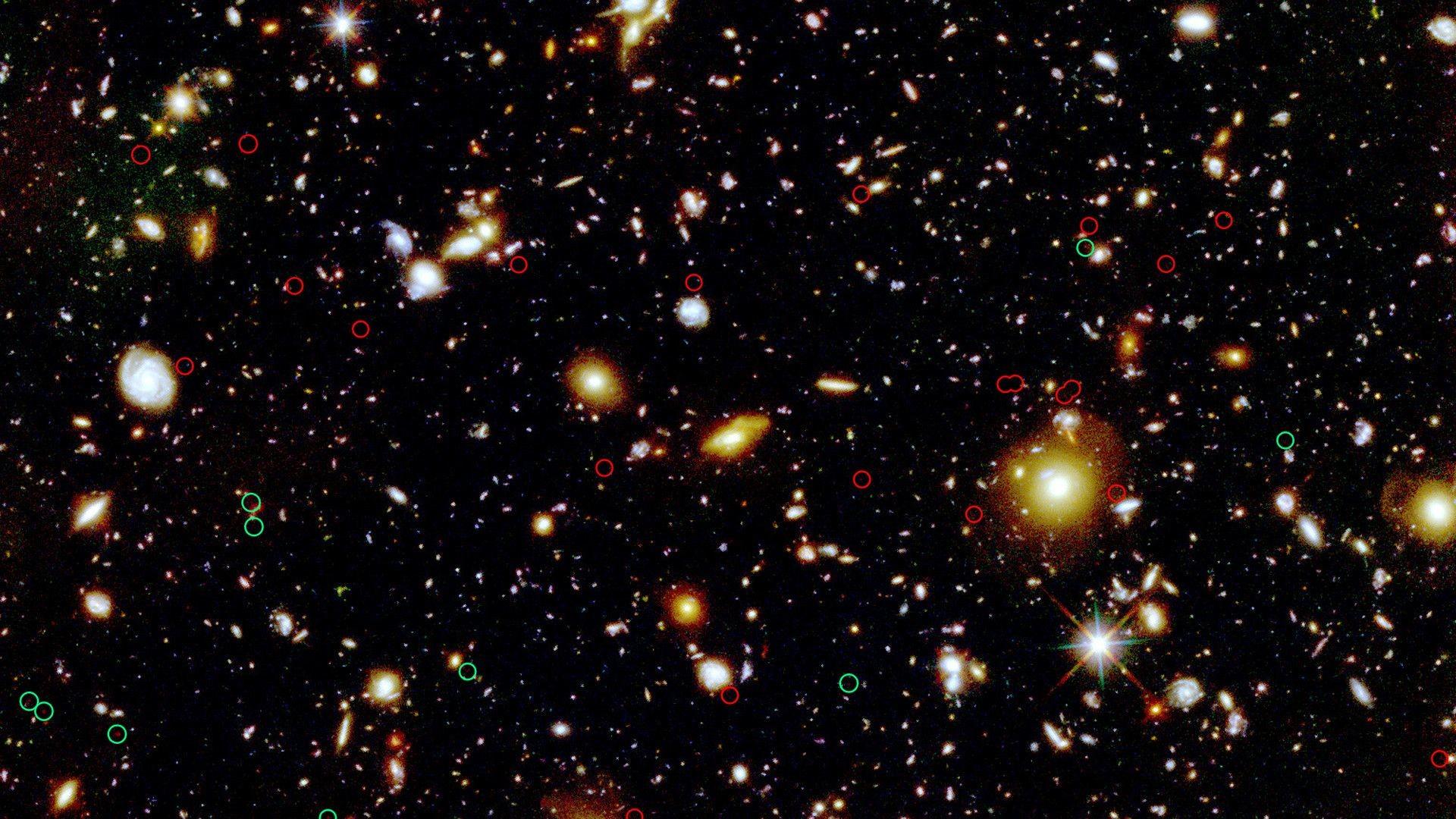 Hubble Ultra Deep Field Wallpapers – Wallpaper Cave