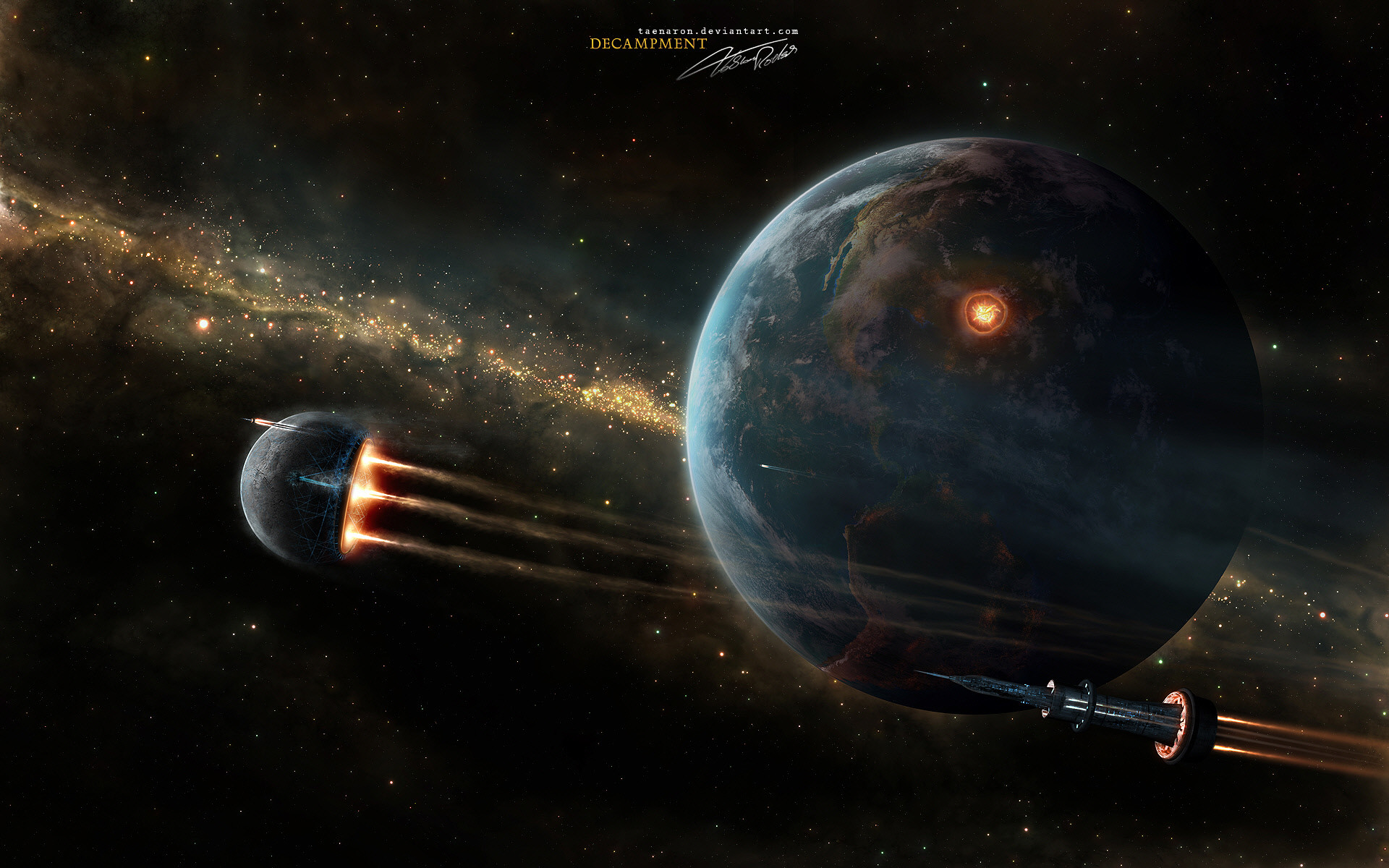 space and universe wallpaper img7