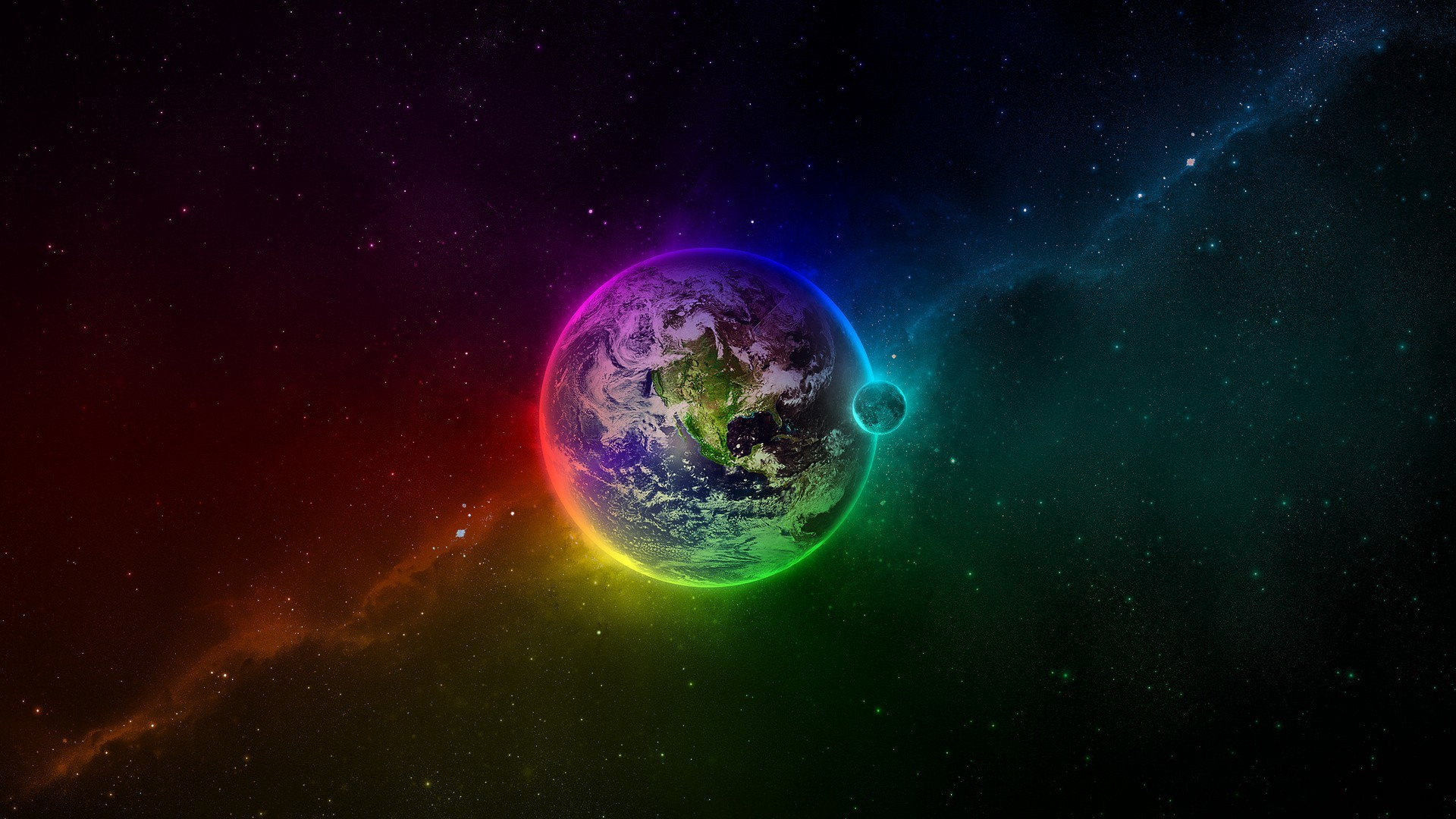 Earth Space High Resolution Background High Definition Wallpaper .