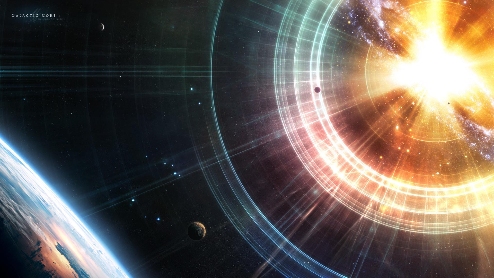 [1920×1080] Galactic Core …