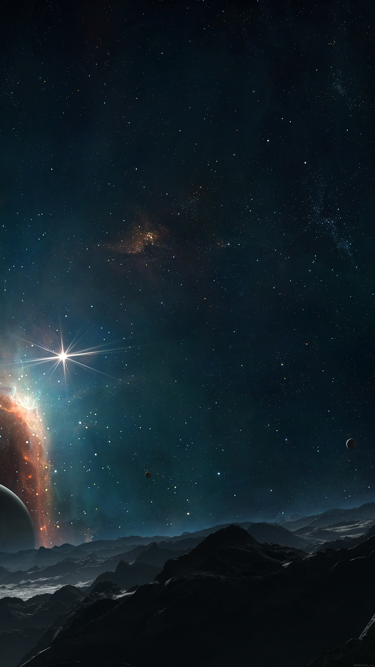 Galaxy Wallpaper For Iphone