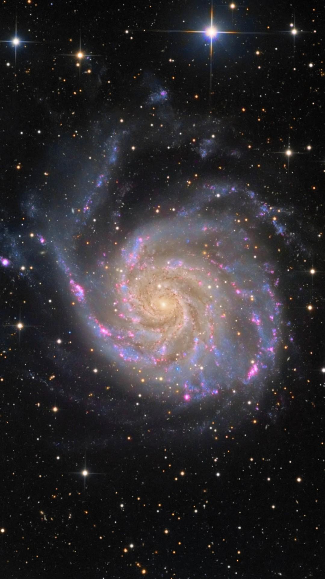 Dark Shiny Space Beautiful Nebula Circle #iPhone #6 #plus #wallpaper