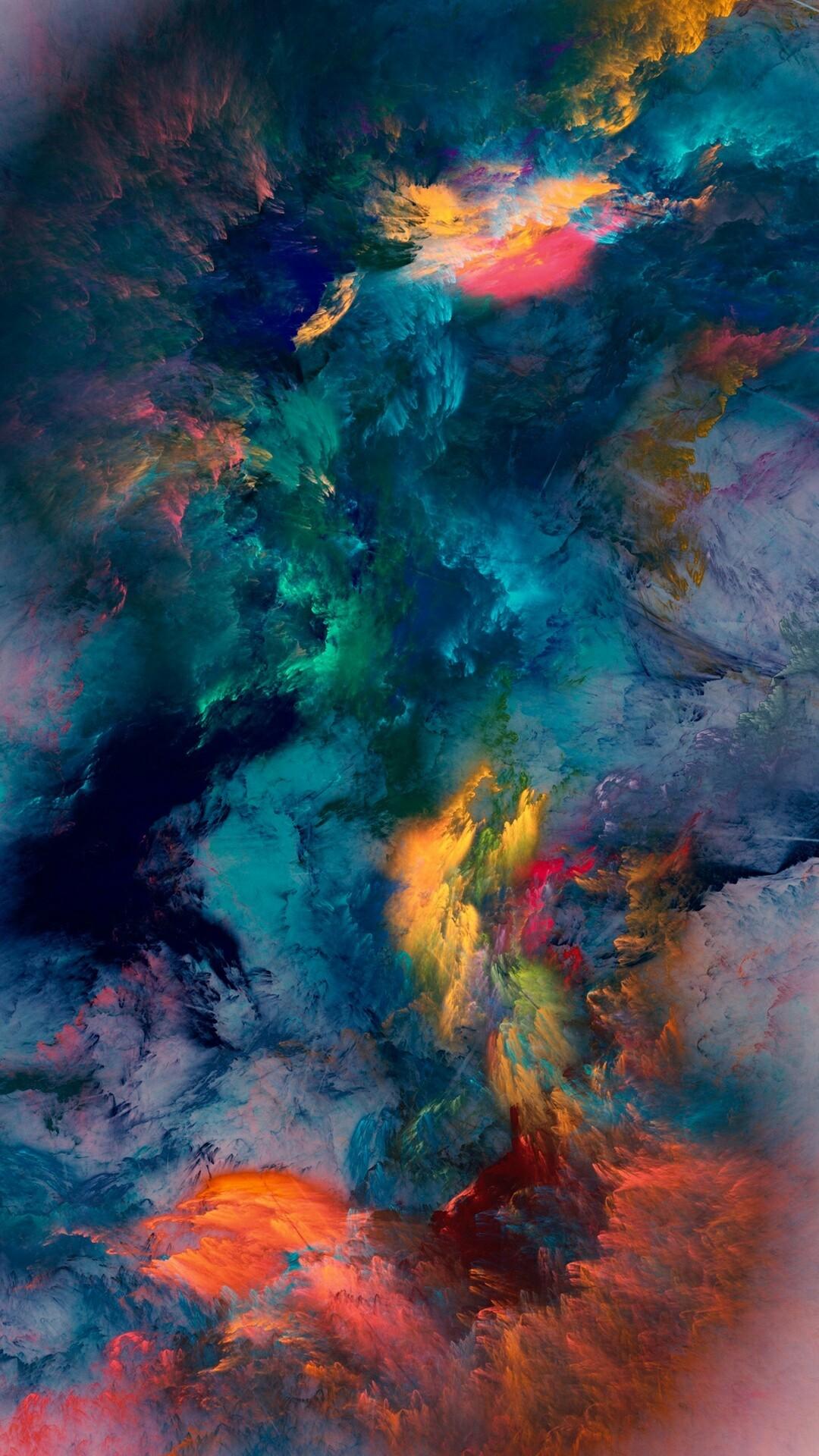 "iPhone 6 Plus Wallpaper ""Space Splat"""