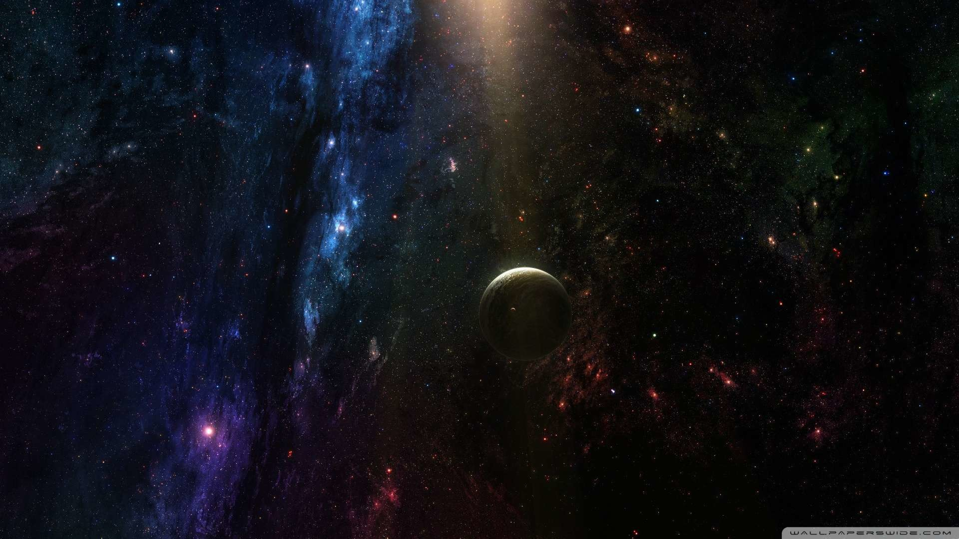 Wallpaper: Planet In Deep Space Wallpaper 1080p HD. Upload at February .