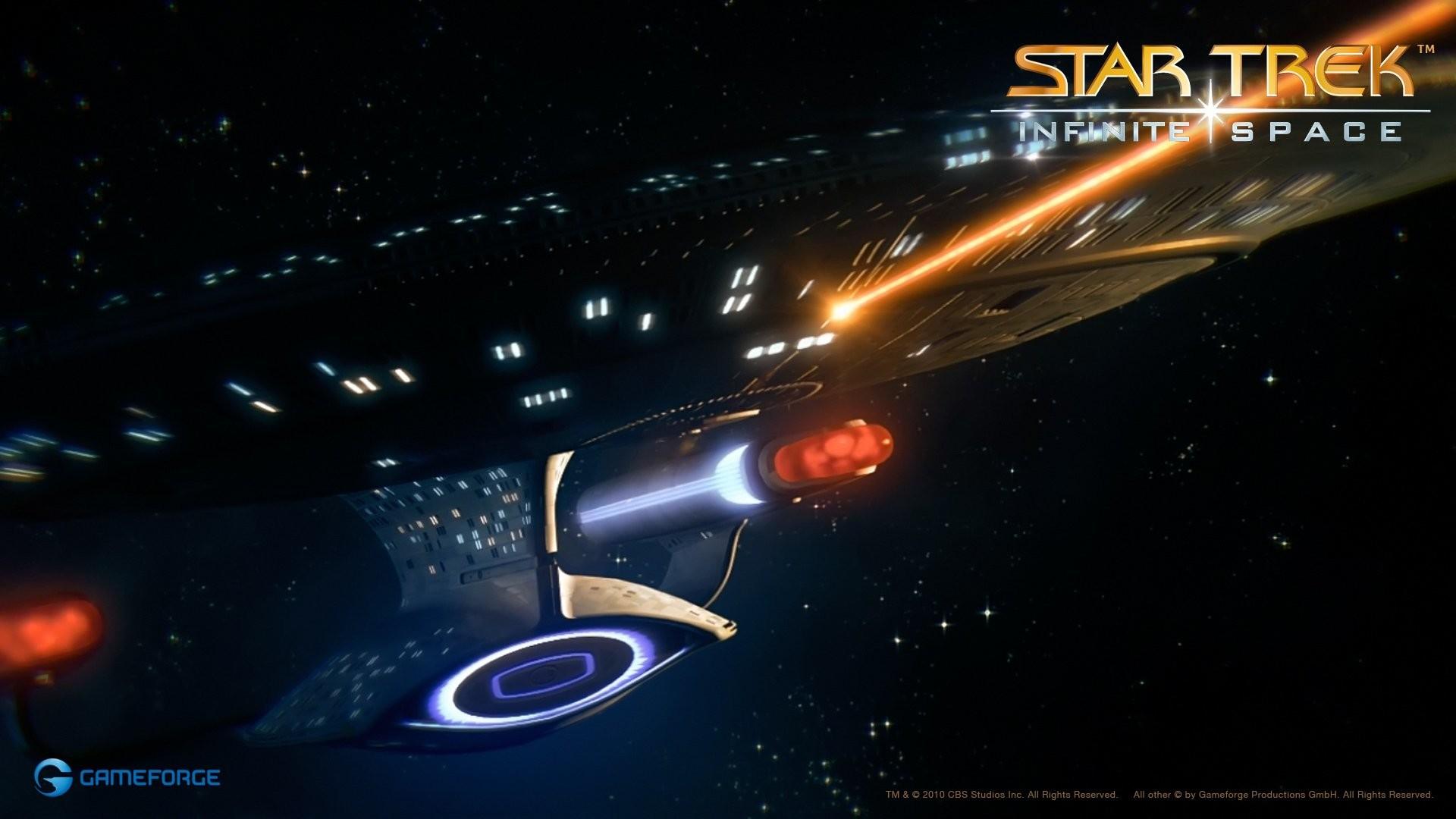 Star Trek: Infinite Space desktop PC and Mac wallpaper