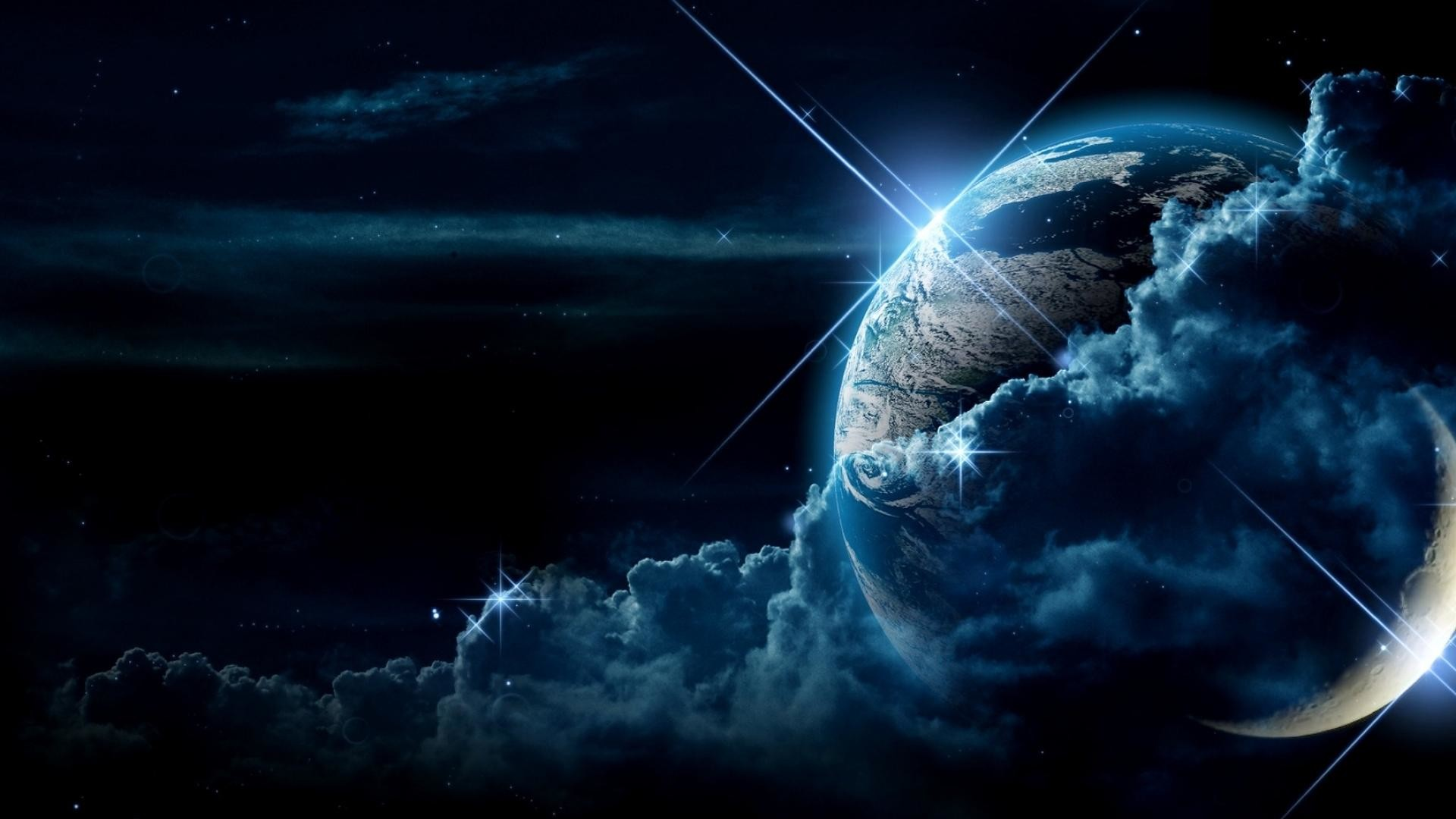 Earth Space Backgrounds – HD Wallpapers