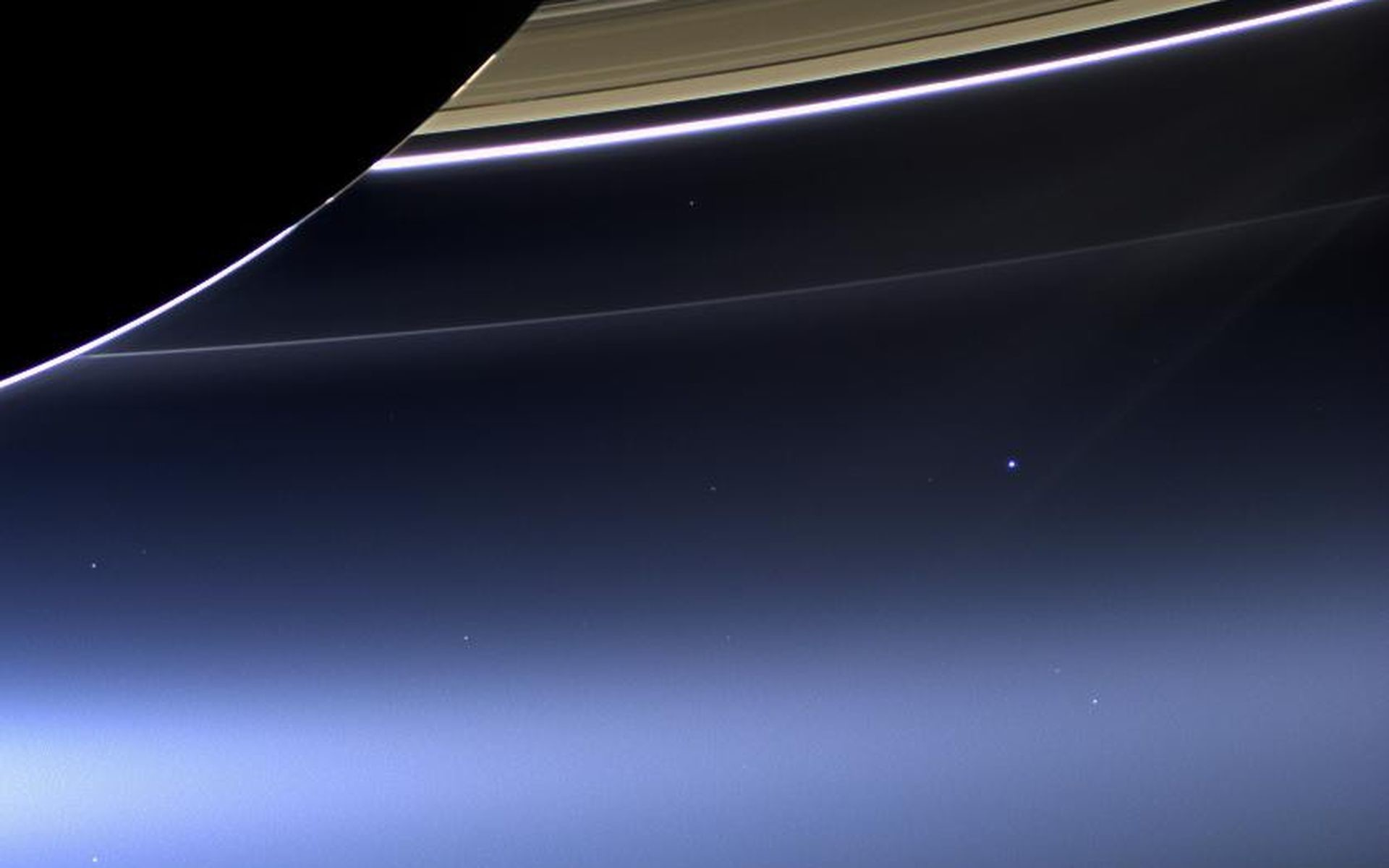 In this rare image taken on July 19, 2013, the wide-angle camera