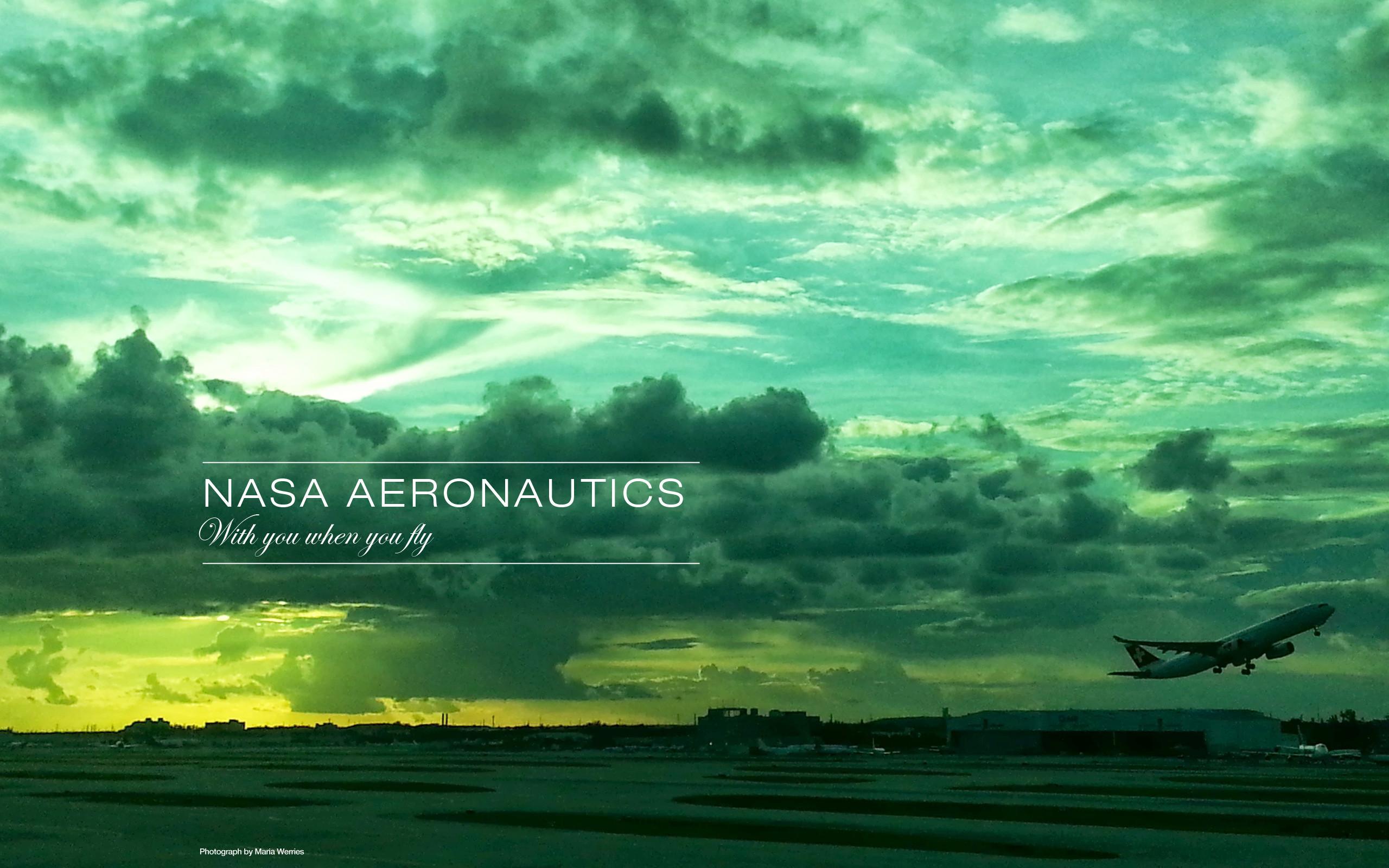 NASA Aeronautics Wallpaper Design 1