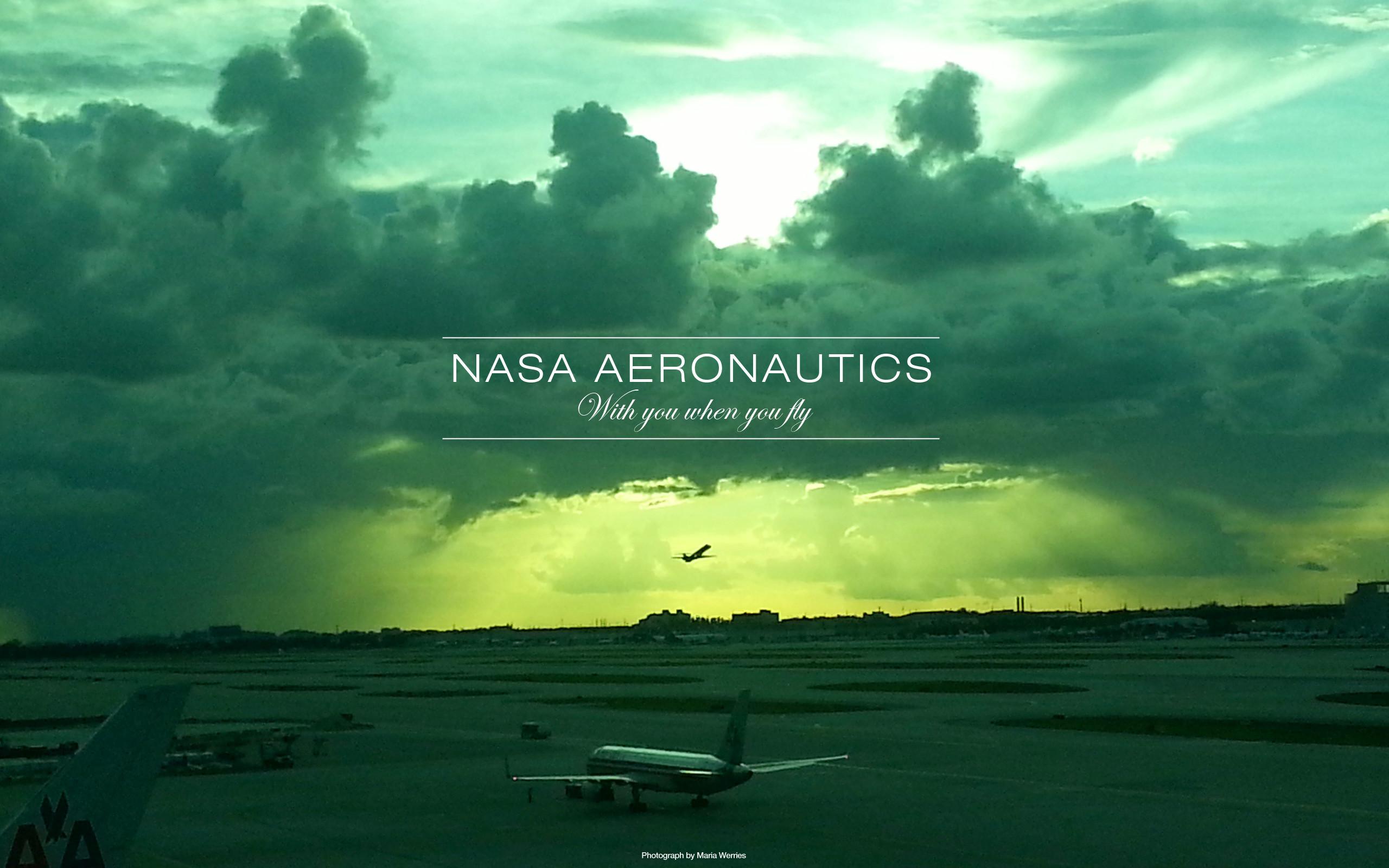 NASA Aeronautics Wallpaper Design 2