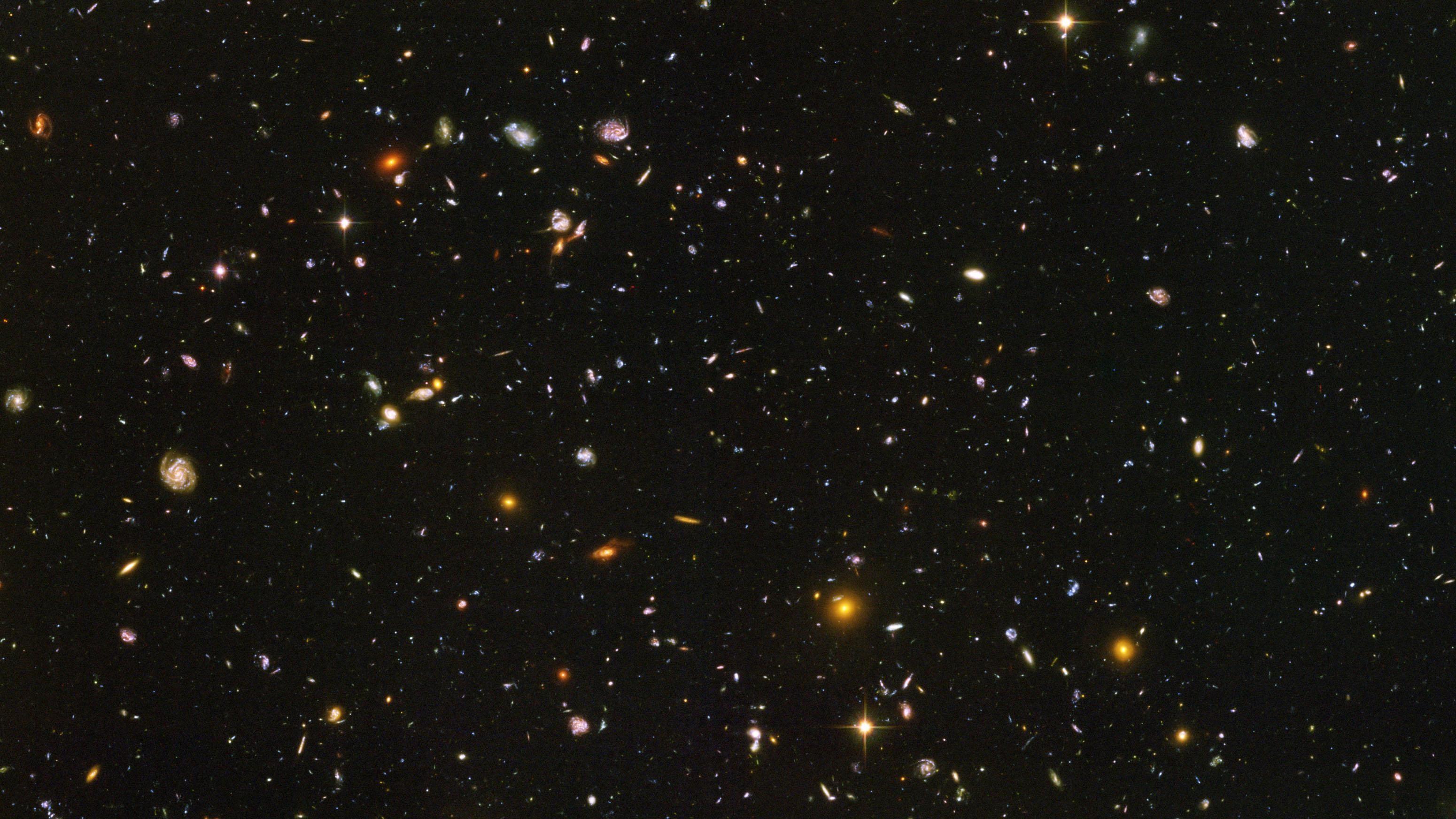 Hubble Ultra Deep Field Hd Backgrounds 18 High   Wallpaperiz.