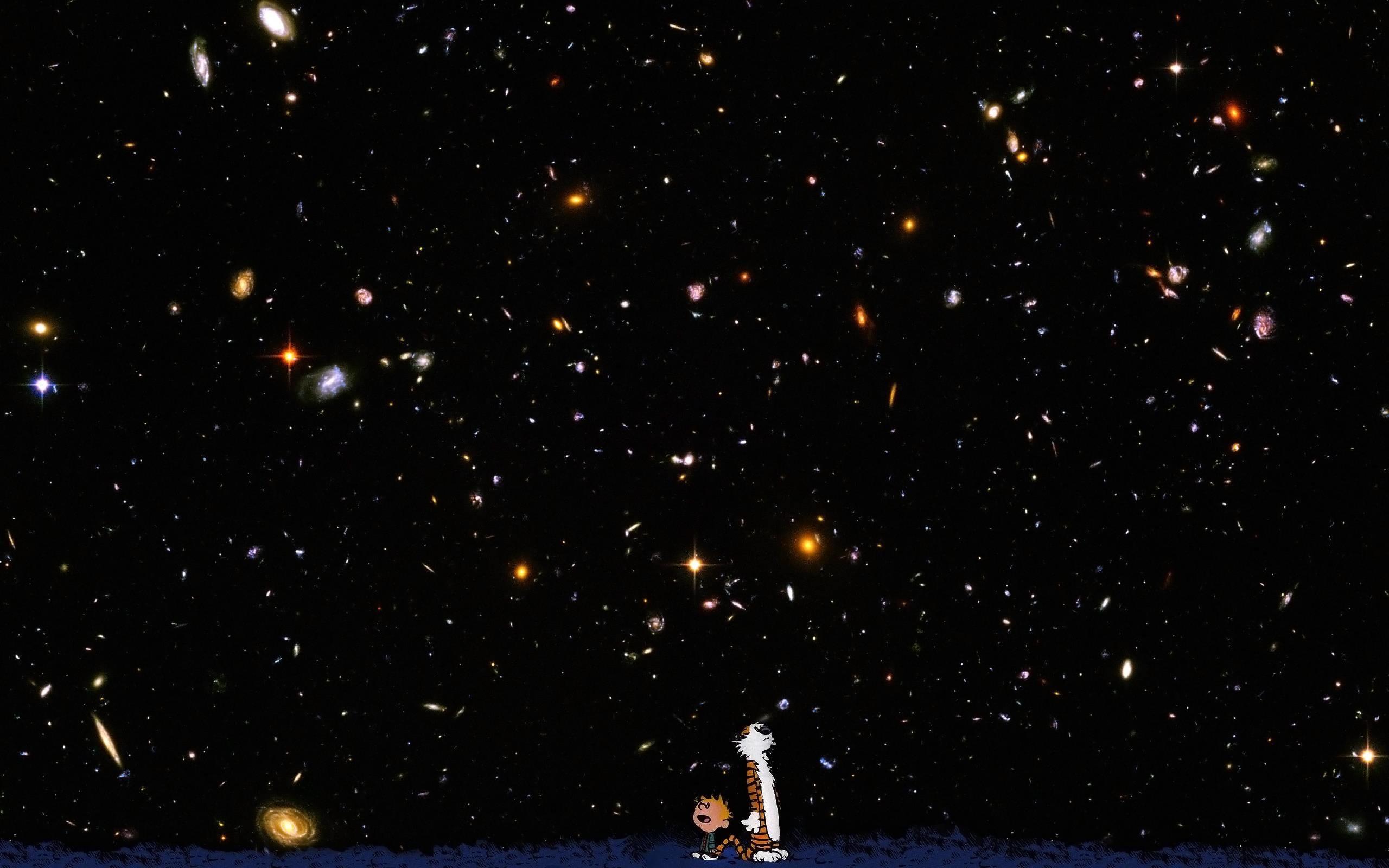 Hubble Deep Field High Resolution Wallpaper