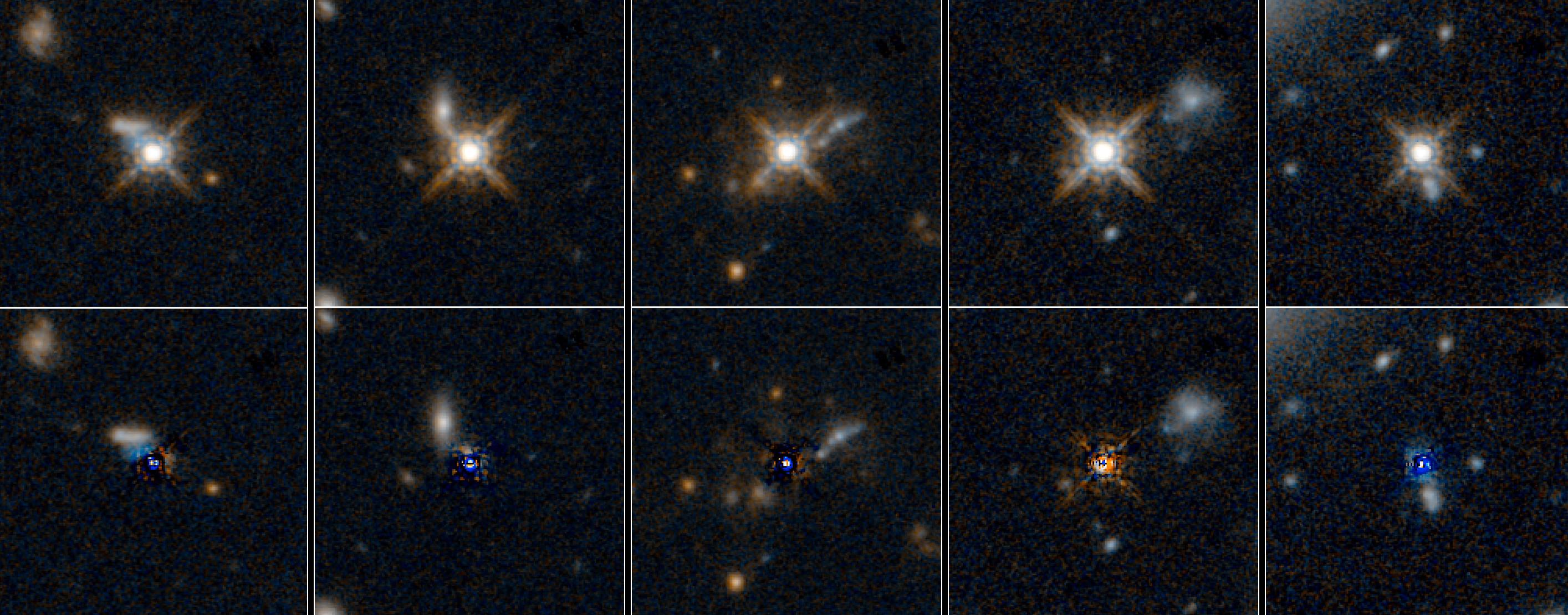 NASA's Hubble Sees the 'Teenage Years' of Quasars