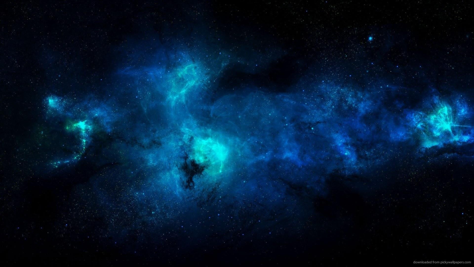 space blue wallpaper 1920×1080