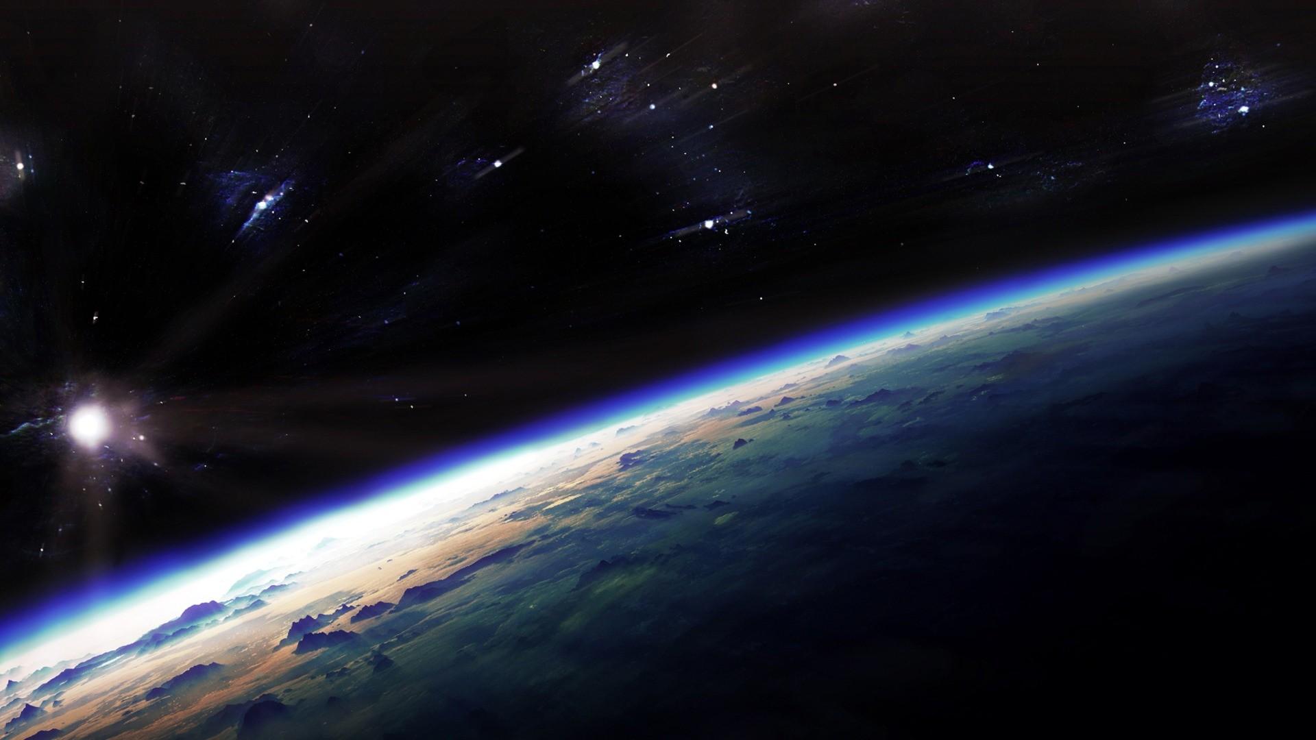 Dark Blue Space Wallpaper HD jpg 298716