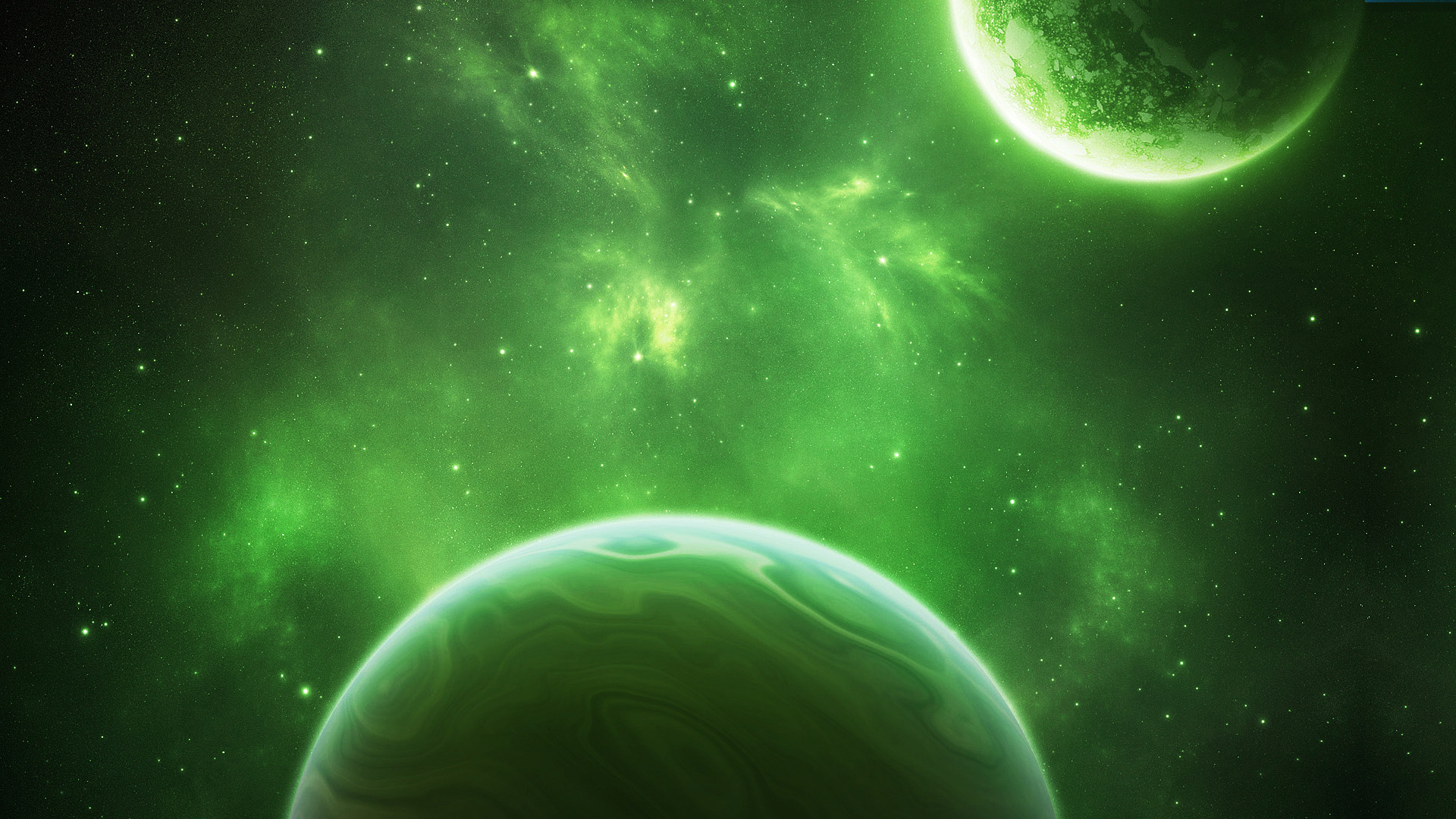 Related Wallpapers from Awesome Space Screensavers. Green Space