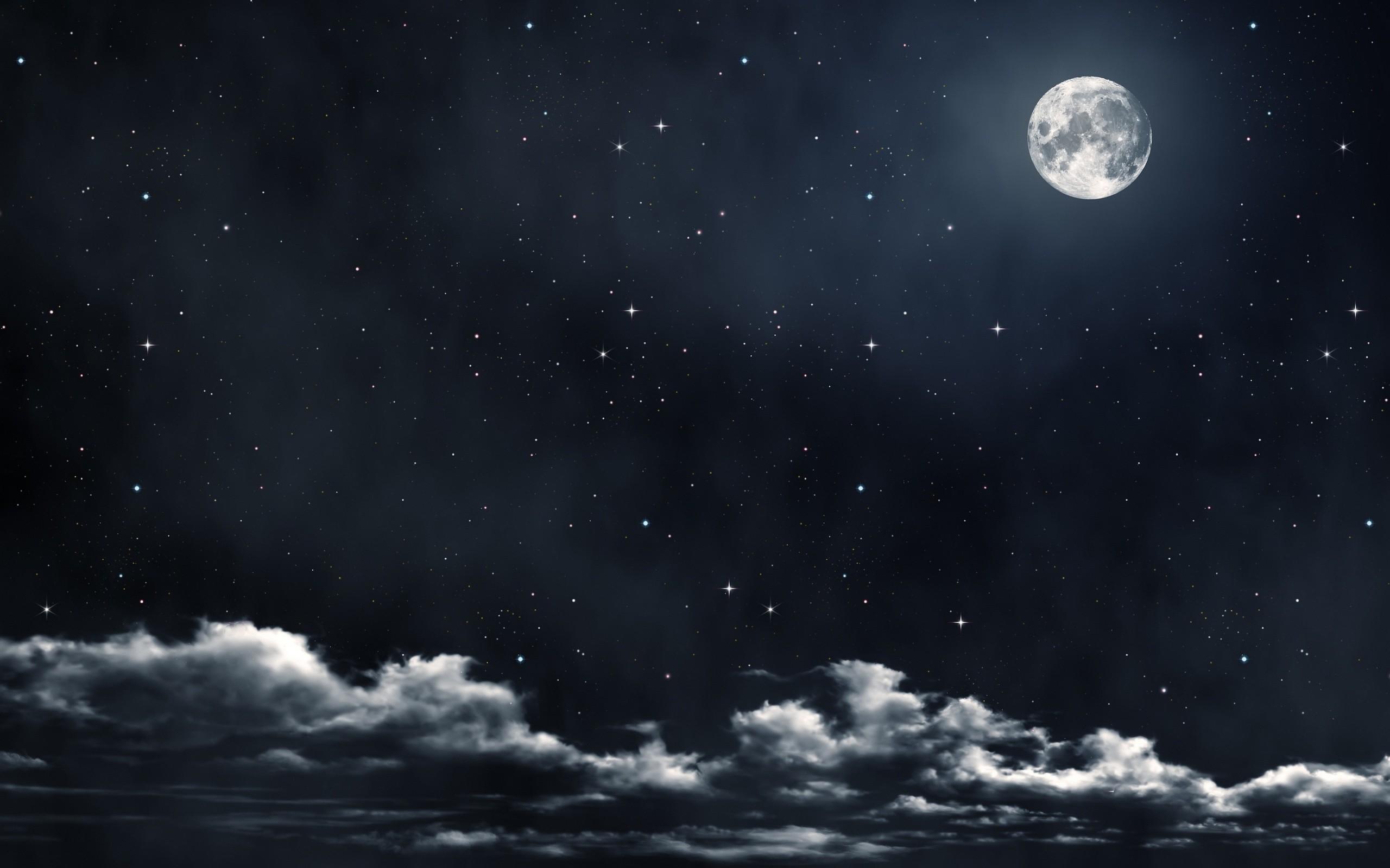 wallpaper.wiki-Download-Free-Sun-Moon-Stars-Wallpaper-
