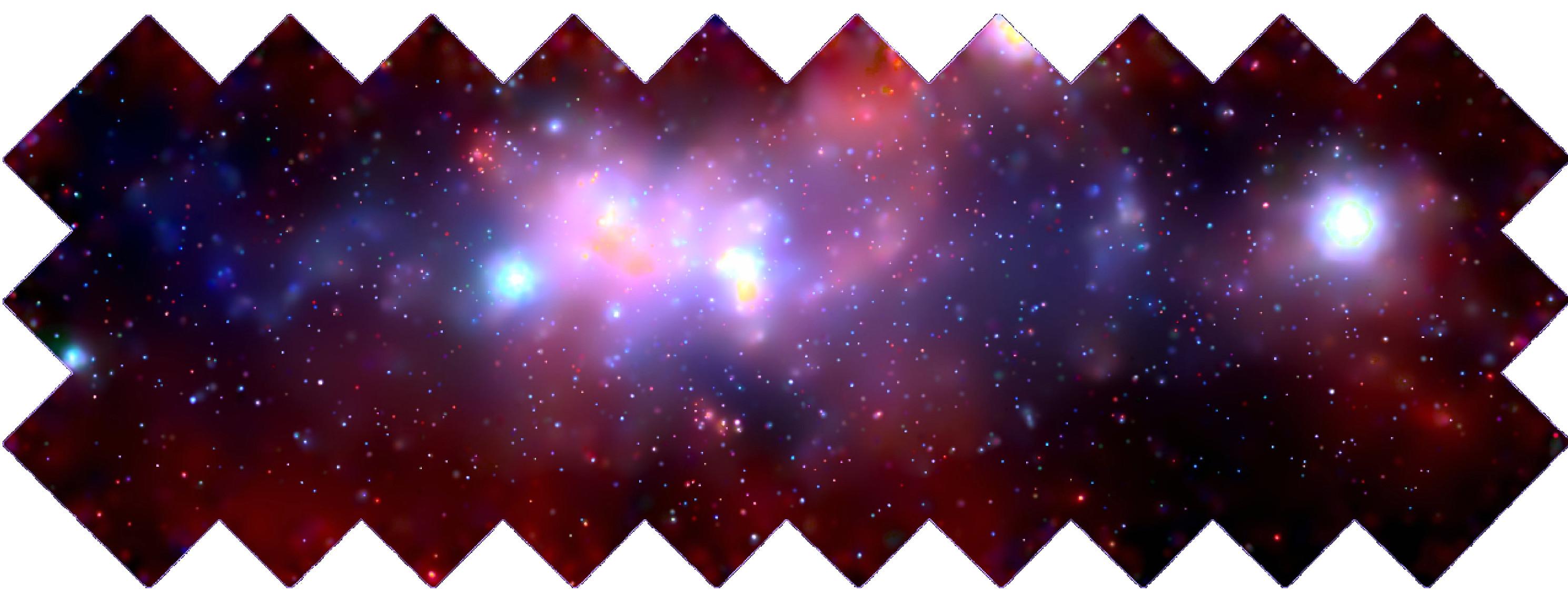 Description Milky Way Galaxy center Chandra transparentBackground.png