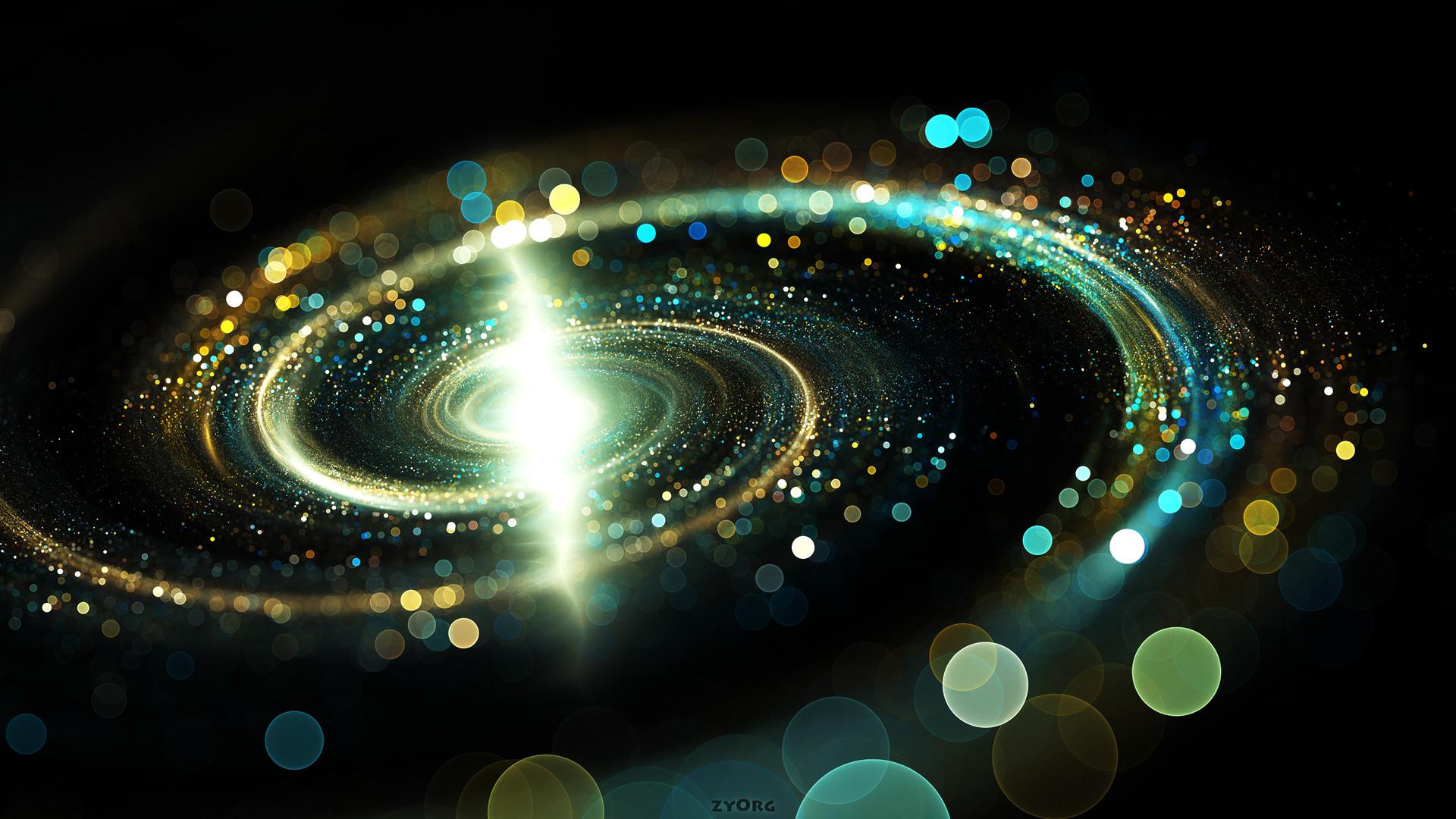 Abstract – Circle Galaxy Wallpaper