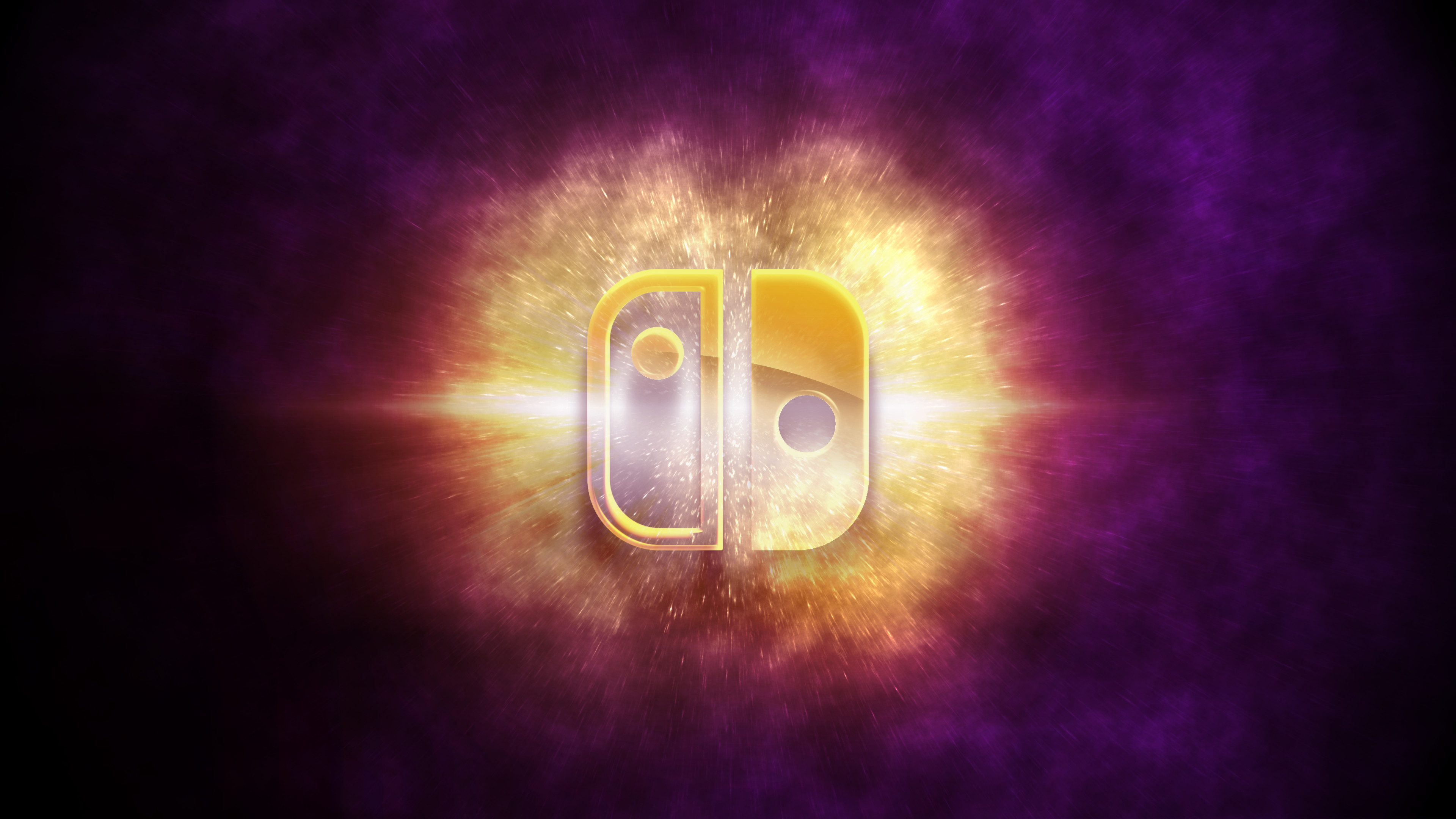… Nintendo Switch: Galaxy Wallpaper by Mauritaly