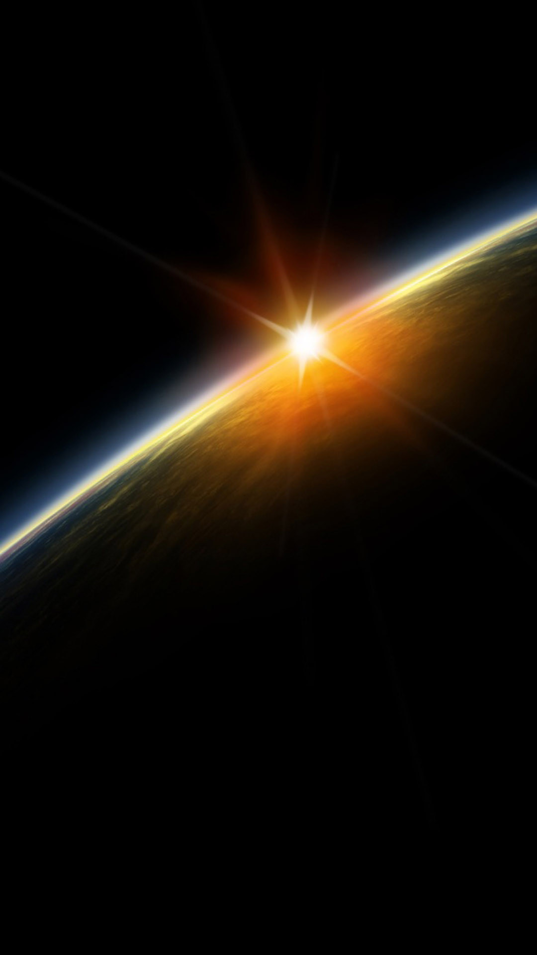 Outer Space Lightening Planet #iPhone #6 #plus #Wallpaper. Cellphone  WallpaperWallpapers …