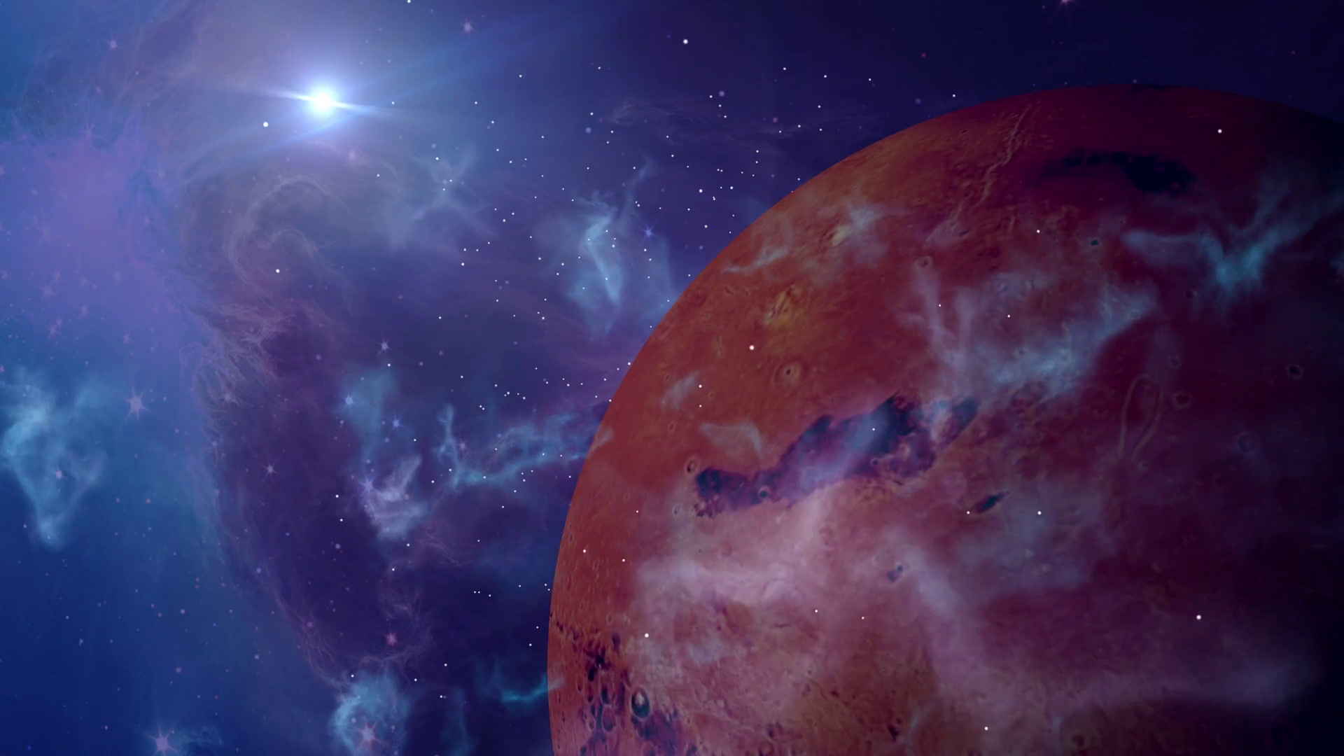 fantasy alien planet in outer space sci-fi background Stock Video Footage –  VideoBlocks