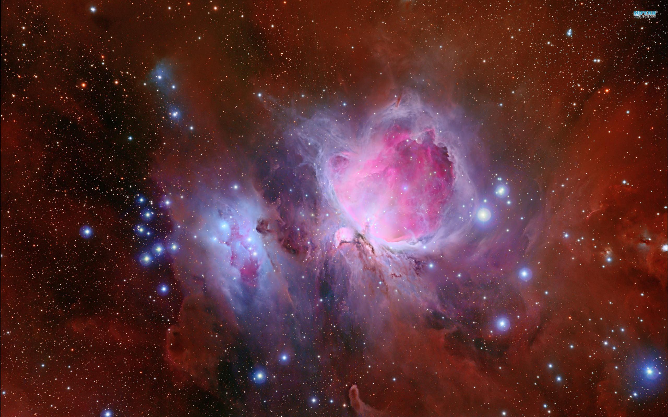High Resolution Nebula Wallpaper