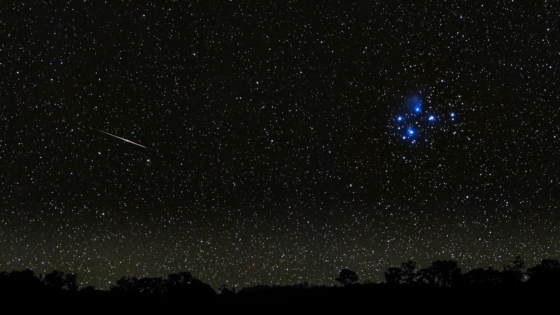 Space stars night
