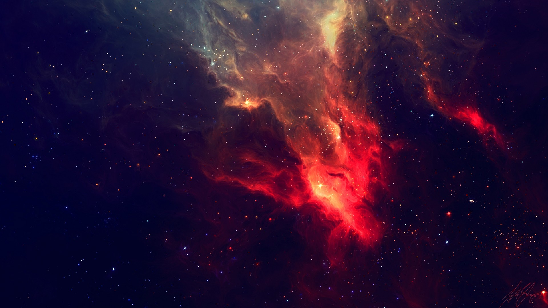 #space, #stars, #nebulae | Wallpaper No. 6693 – wallhaven.
