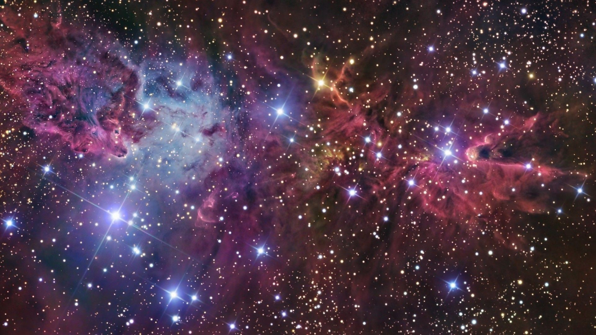 Outer Space Stars Wallpaper Hd