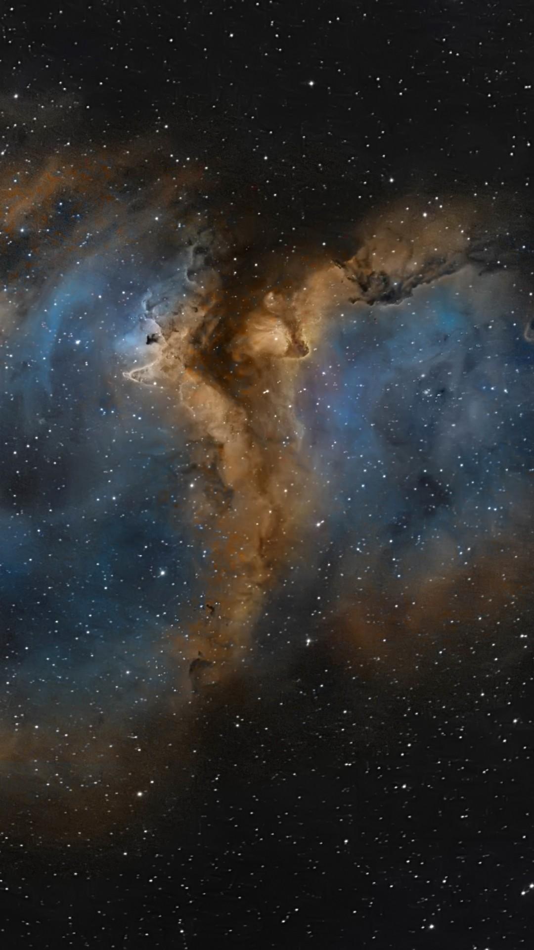 Preview wallpaper nebula, universe, space, stars 1080×1920