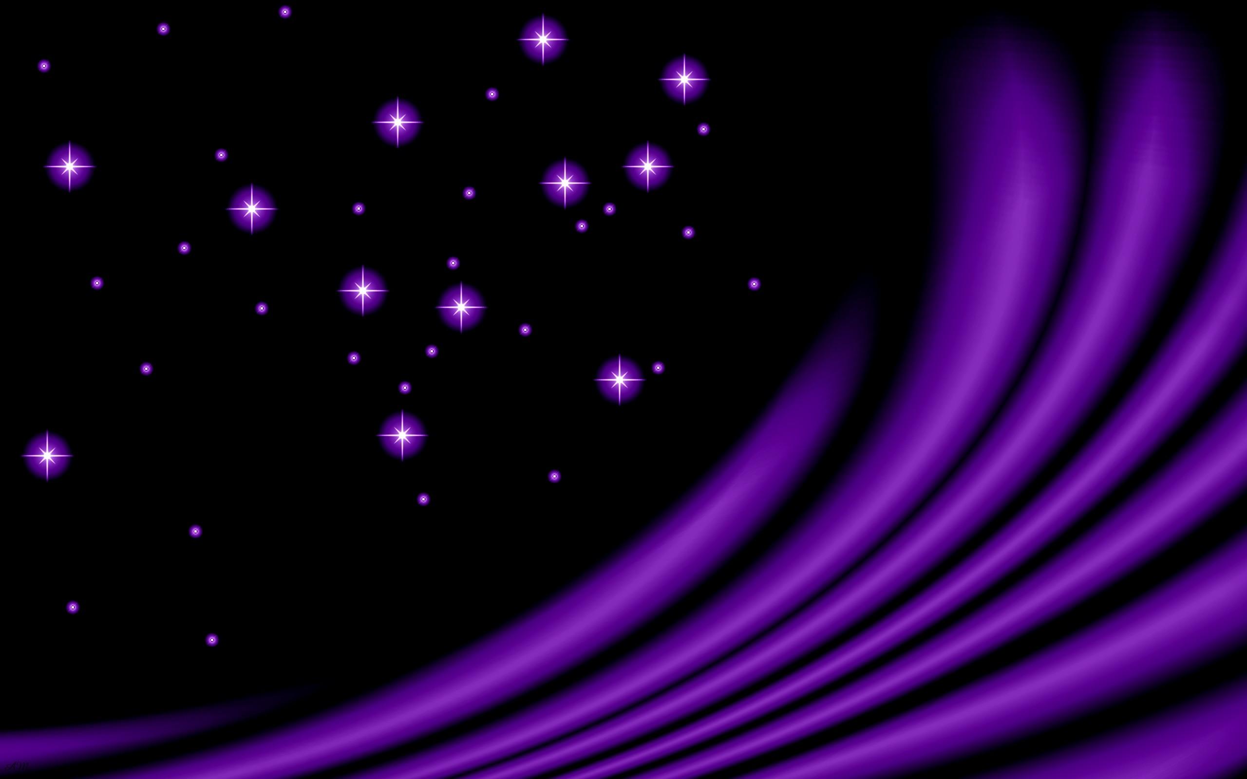 Beautiful Purple Stars HD Wallpapers