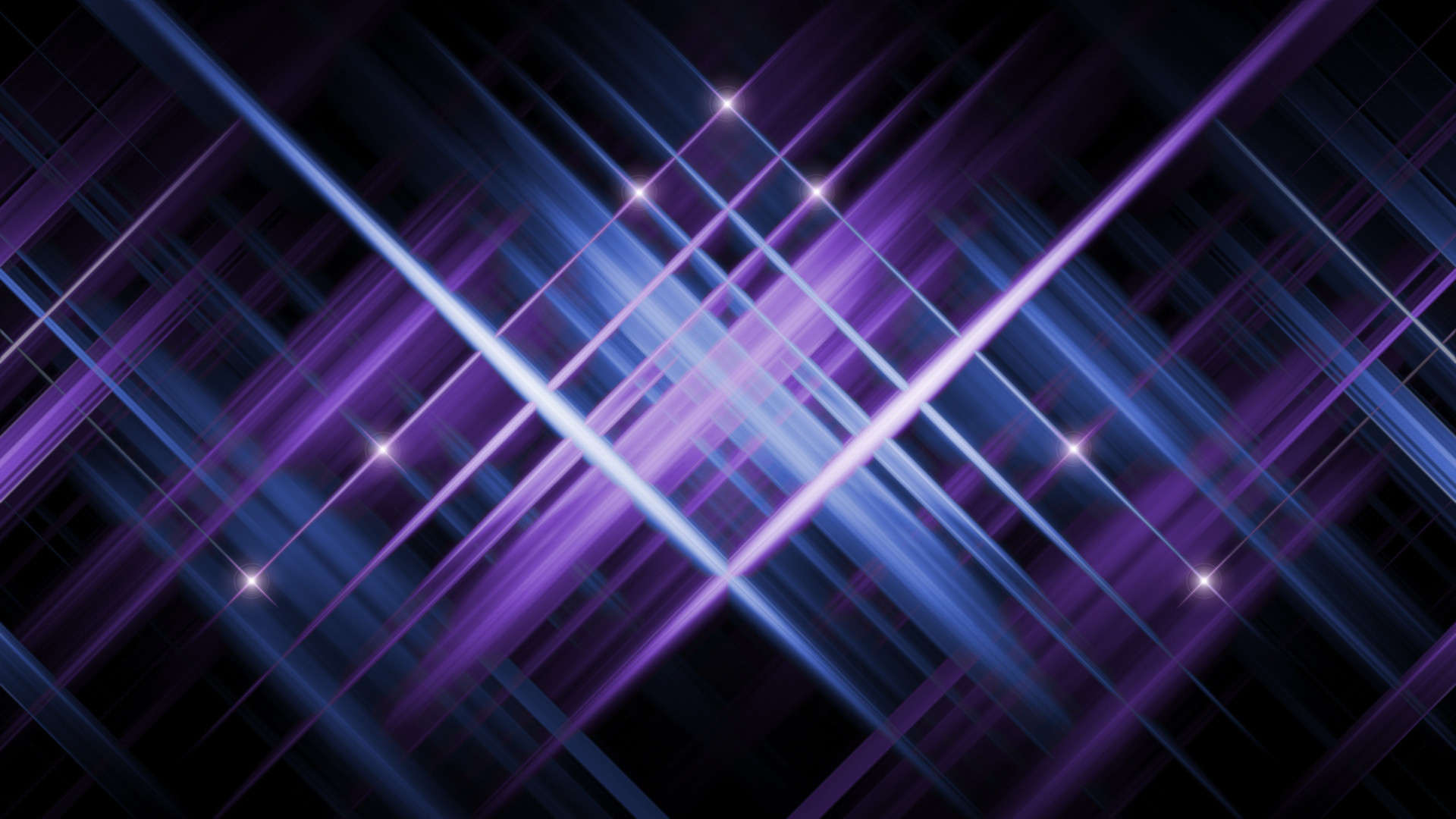 purple, dark background, blue, glow, Star
