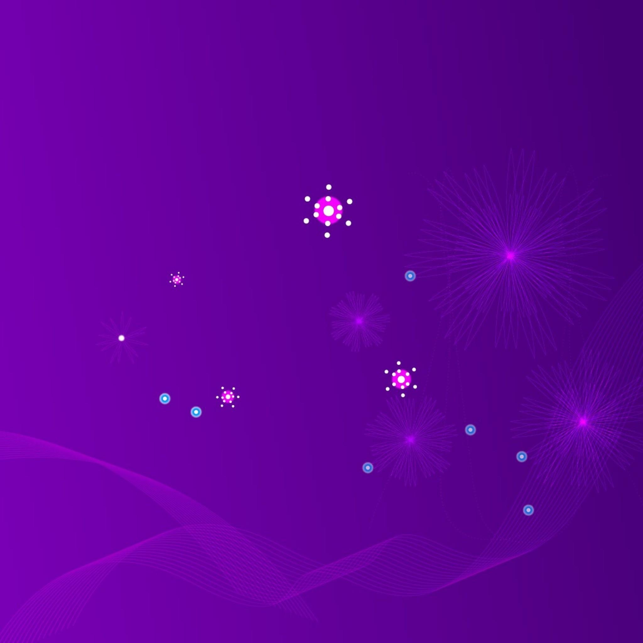 Wallpaper light, shine, star, shining, purple, colors