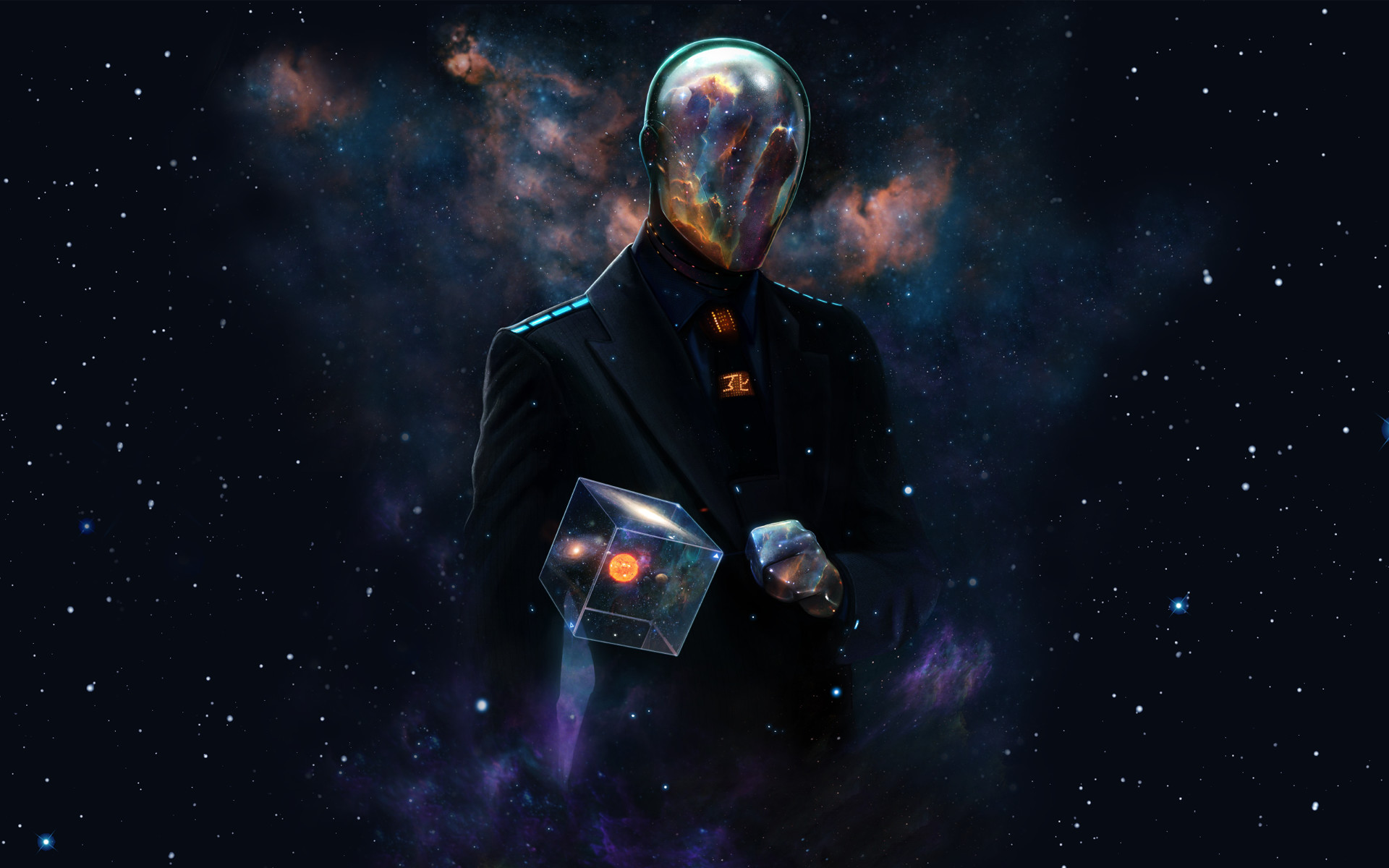 Outer Space Futuristic Galaxies Suit Spaceman Artwork Alien Wallpaper At 3d  Wallpapers