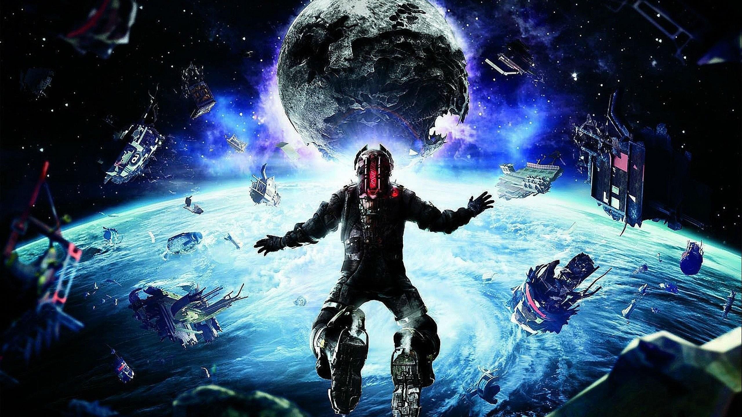 DEAD SPACE sci-fi shooter action futuristic 1deads warrior cyborg robot alien  aliens artwork deadspace fighting wallpaper     740531    WallpaperUP
