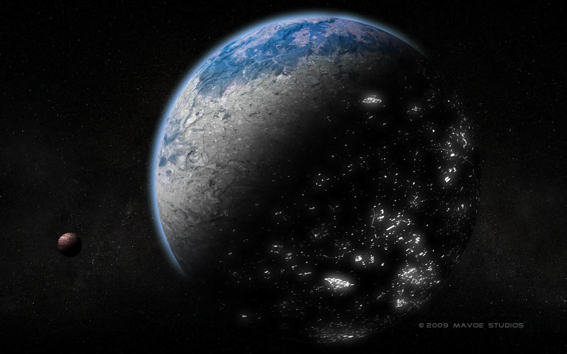 Alien Planet wallpaper 9806