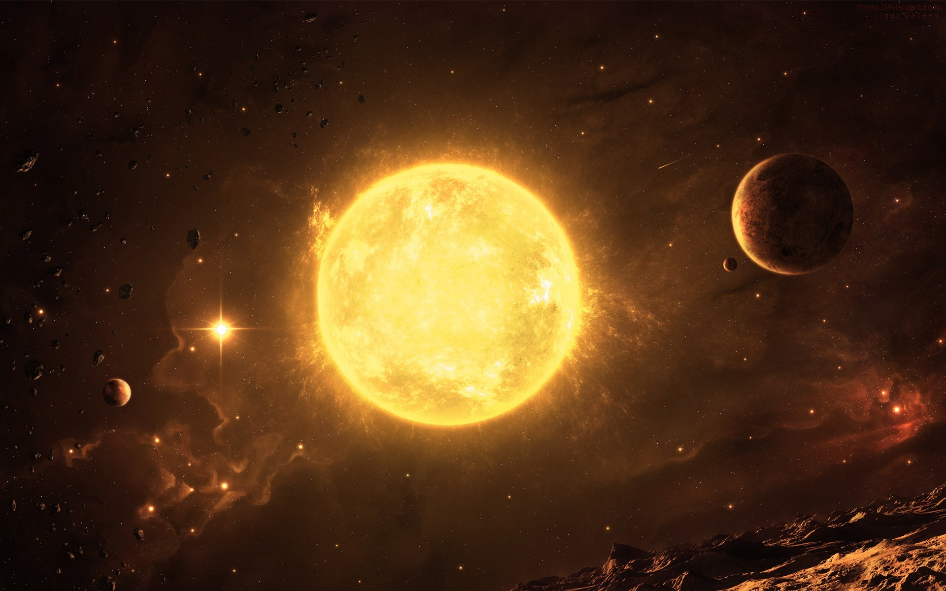 Alien Sun – https://wallpaperzoo.com/alien-sun-46885
